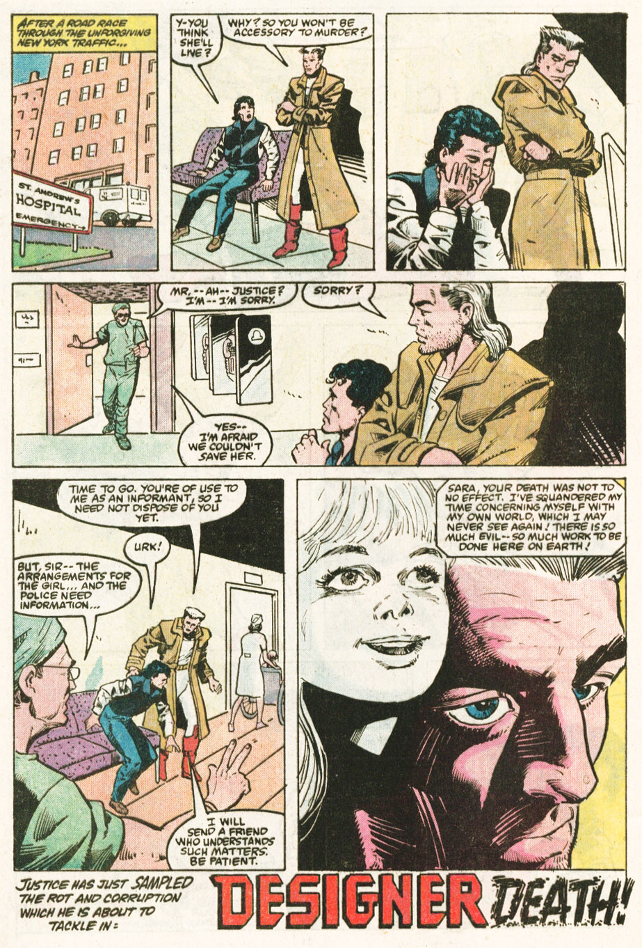 Read online Justice (1986) comic -  Issue #6 - 23