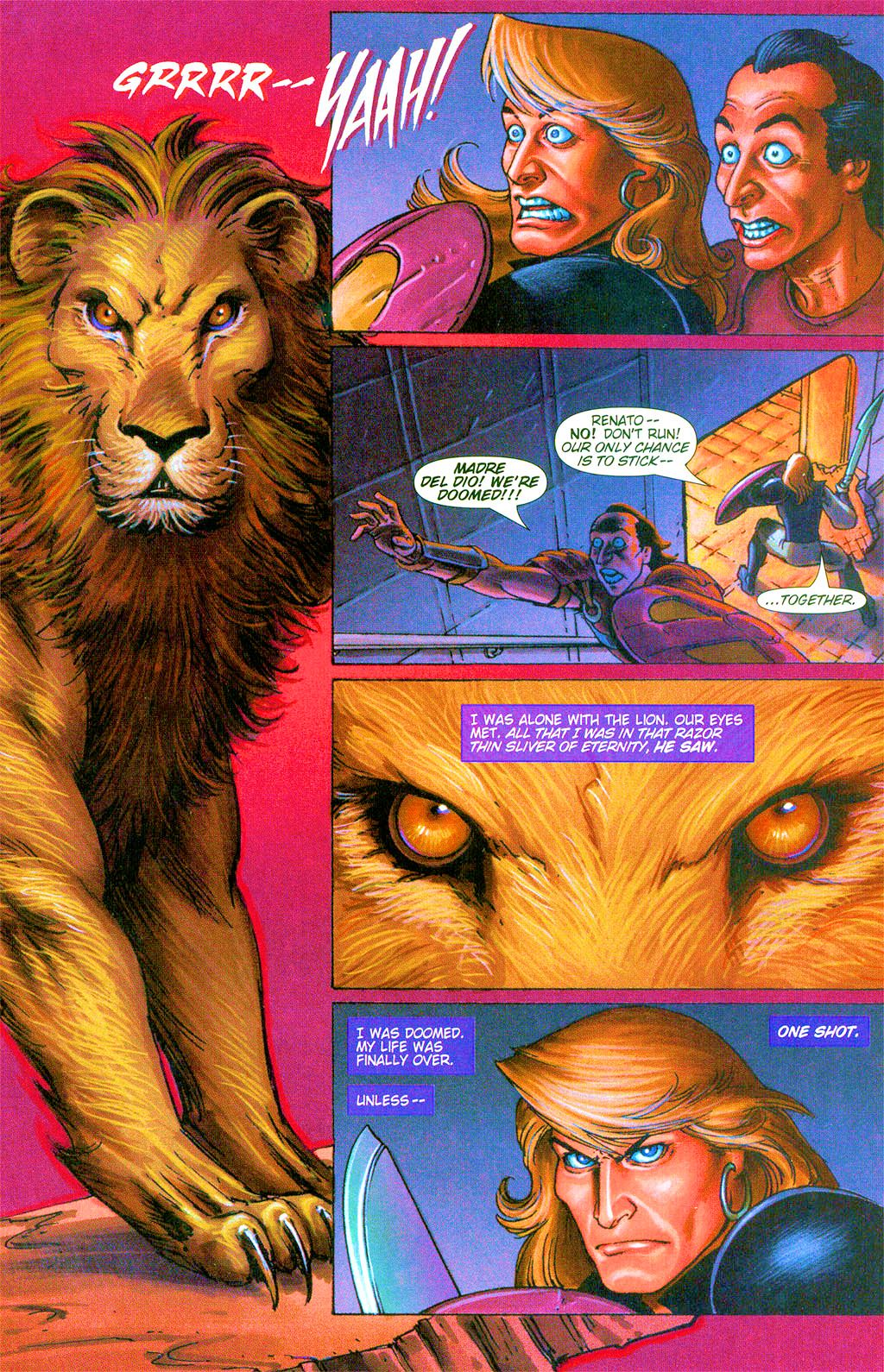 Read online Dawn: Three Tiers comic -  Issue #3 - 15