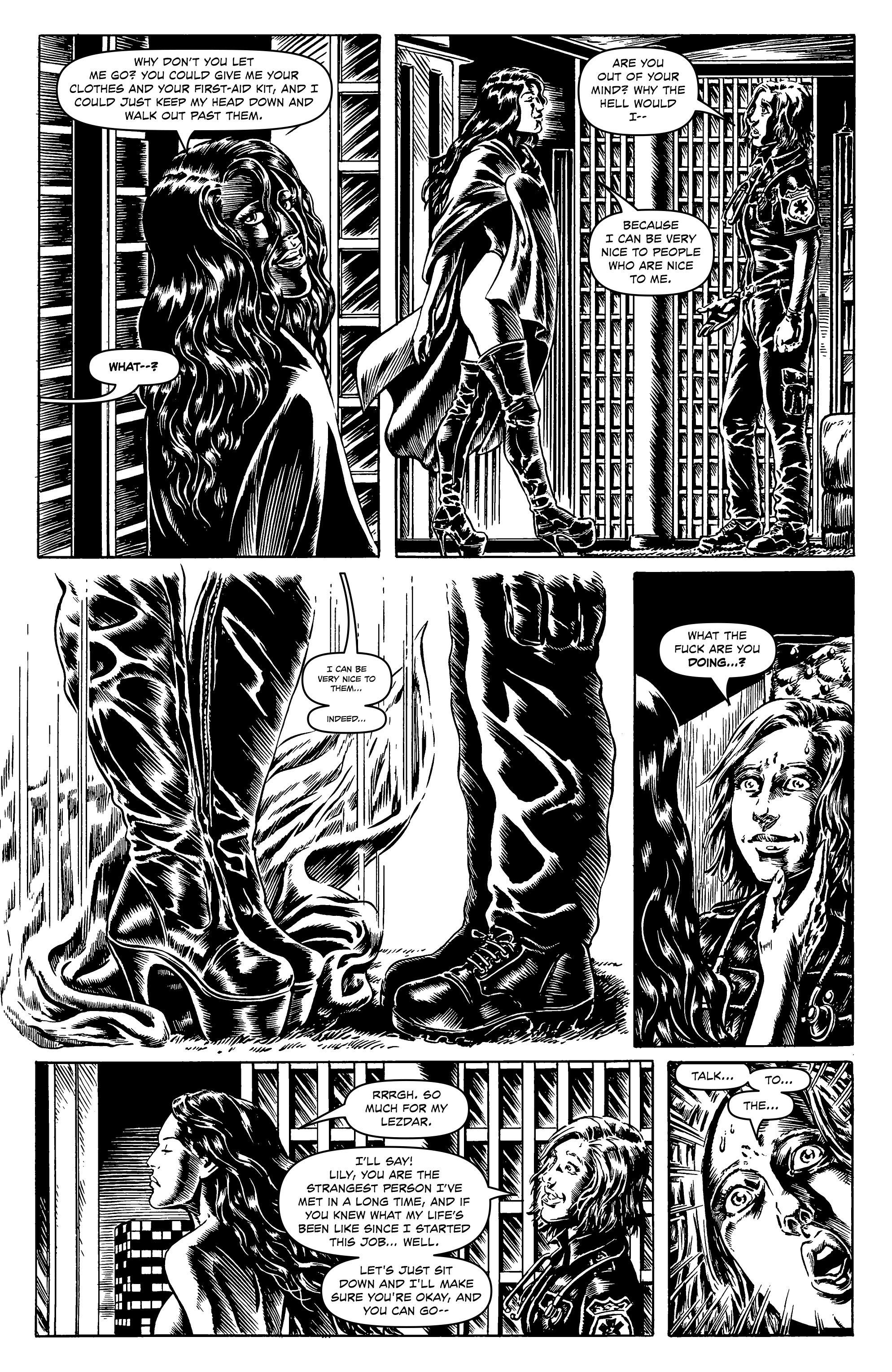 Read online Alan Moore's Cinema Purgatorio comic -  Issue #7 - 19