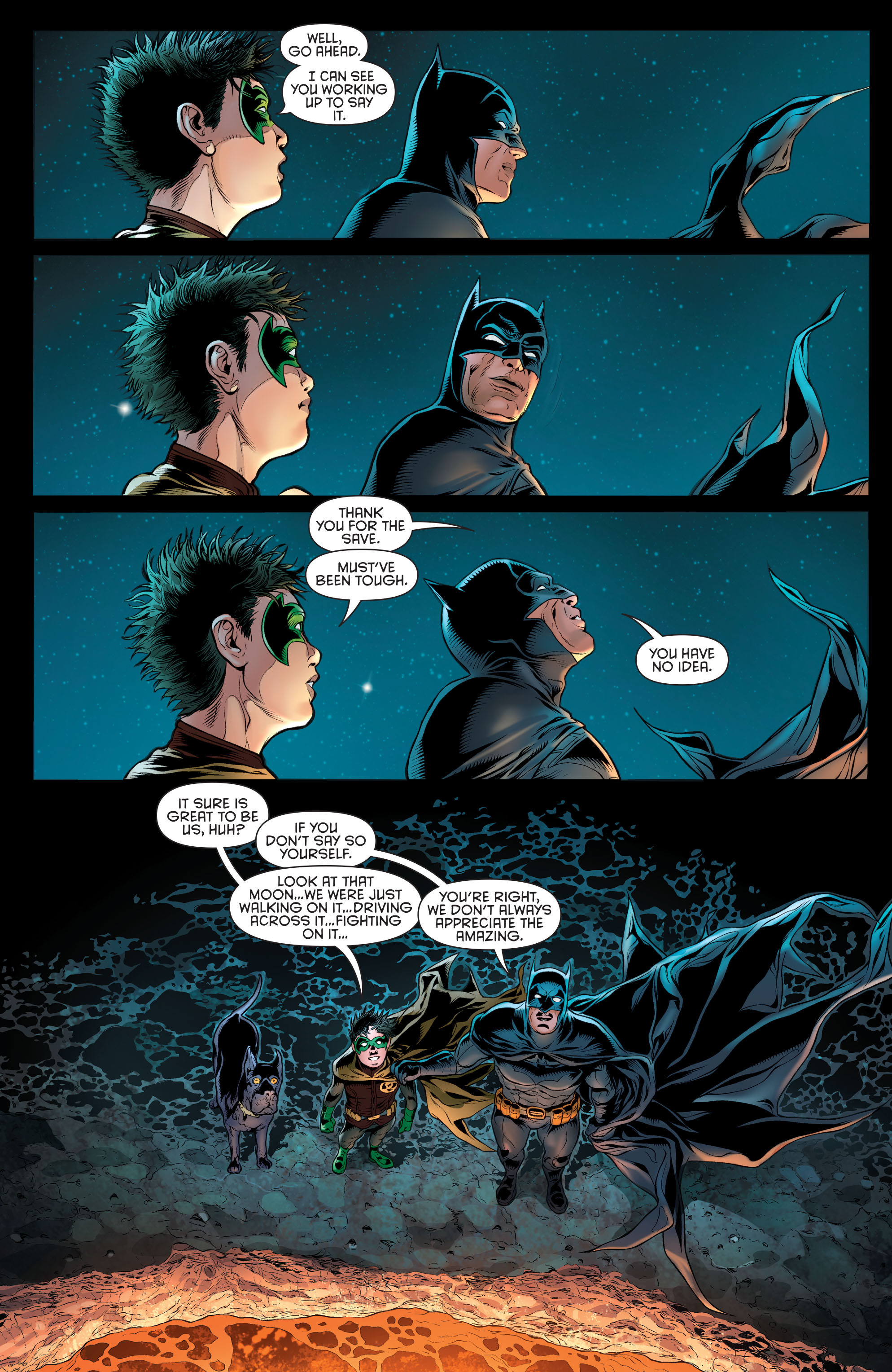 Read online Batman and Robin (2011) comic -  Issue # Annual 3 - 36