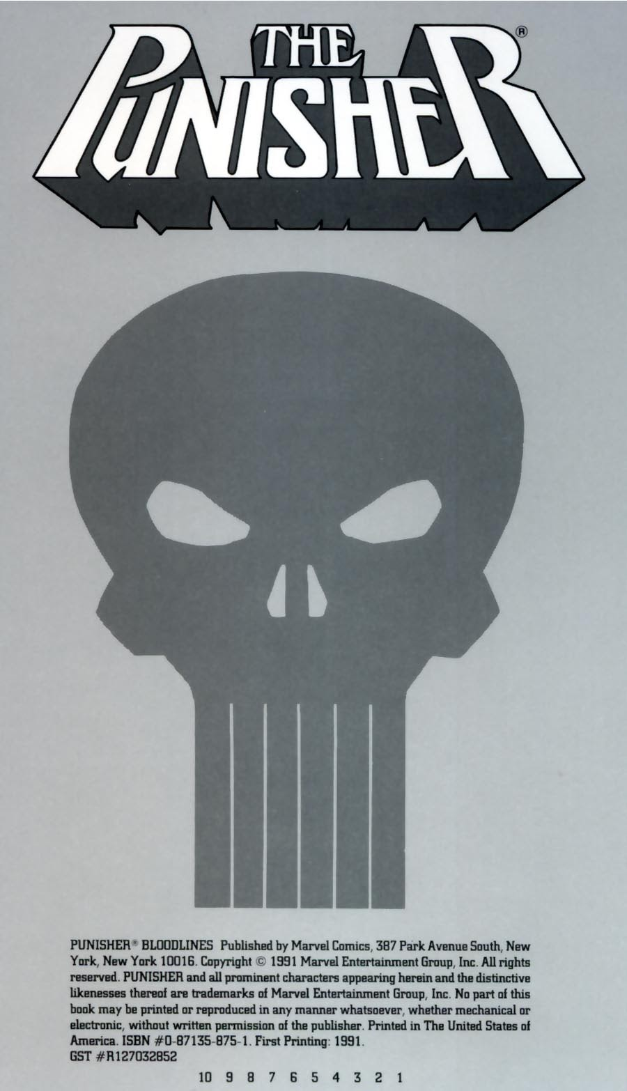 Read online Punisher Bloodlines comic -  Issue # Full - 2