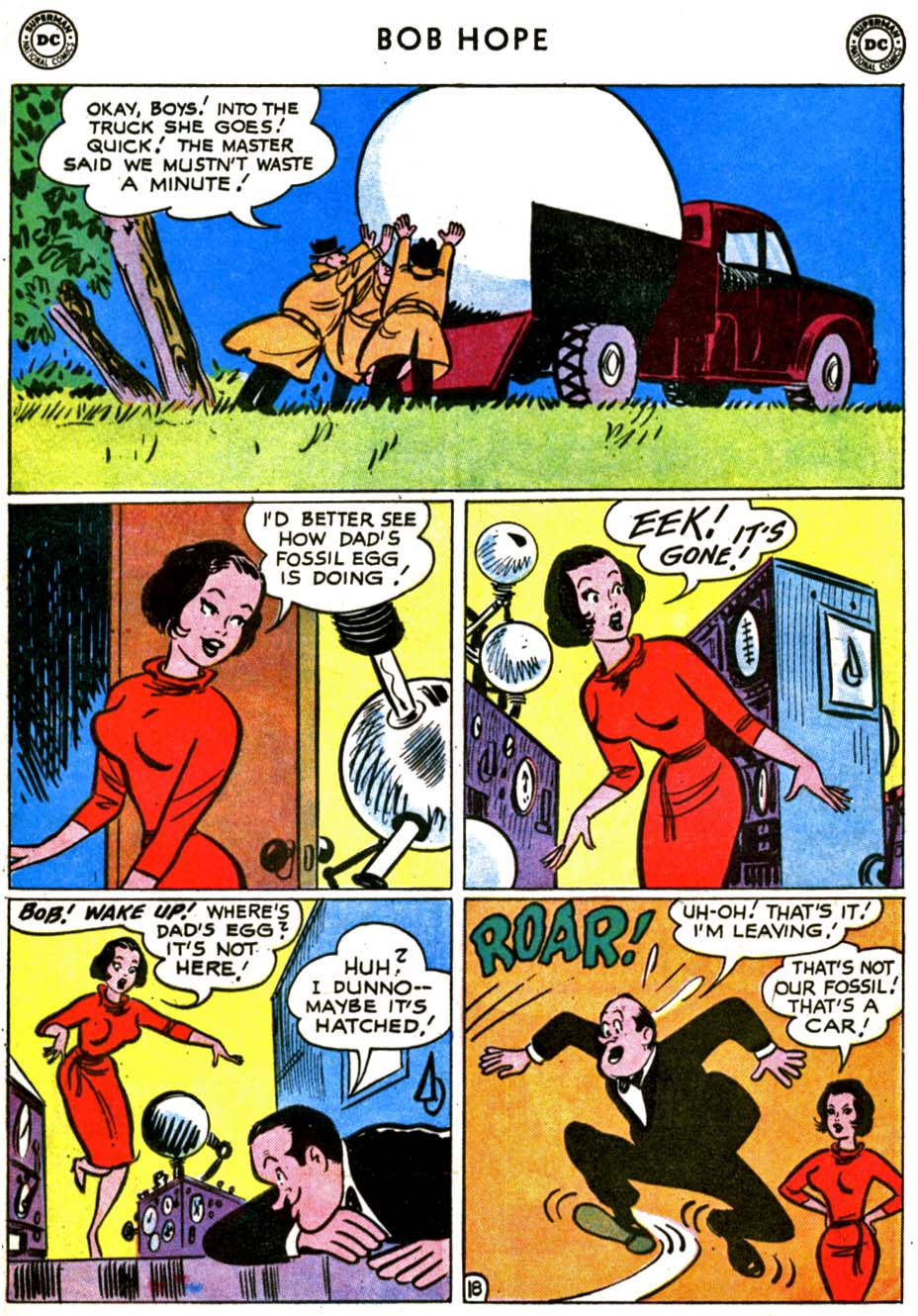 The Adventures of Bob Hope issue 69 - Page 25