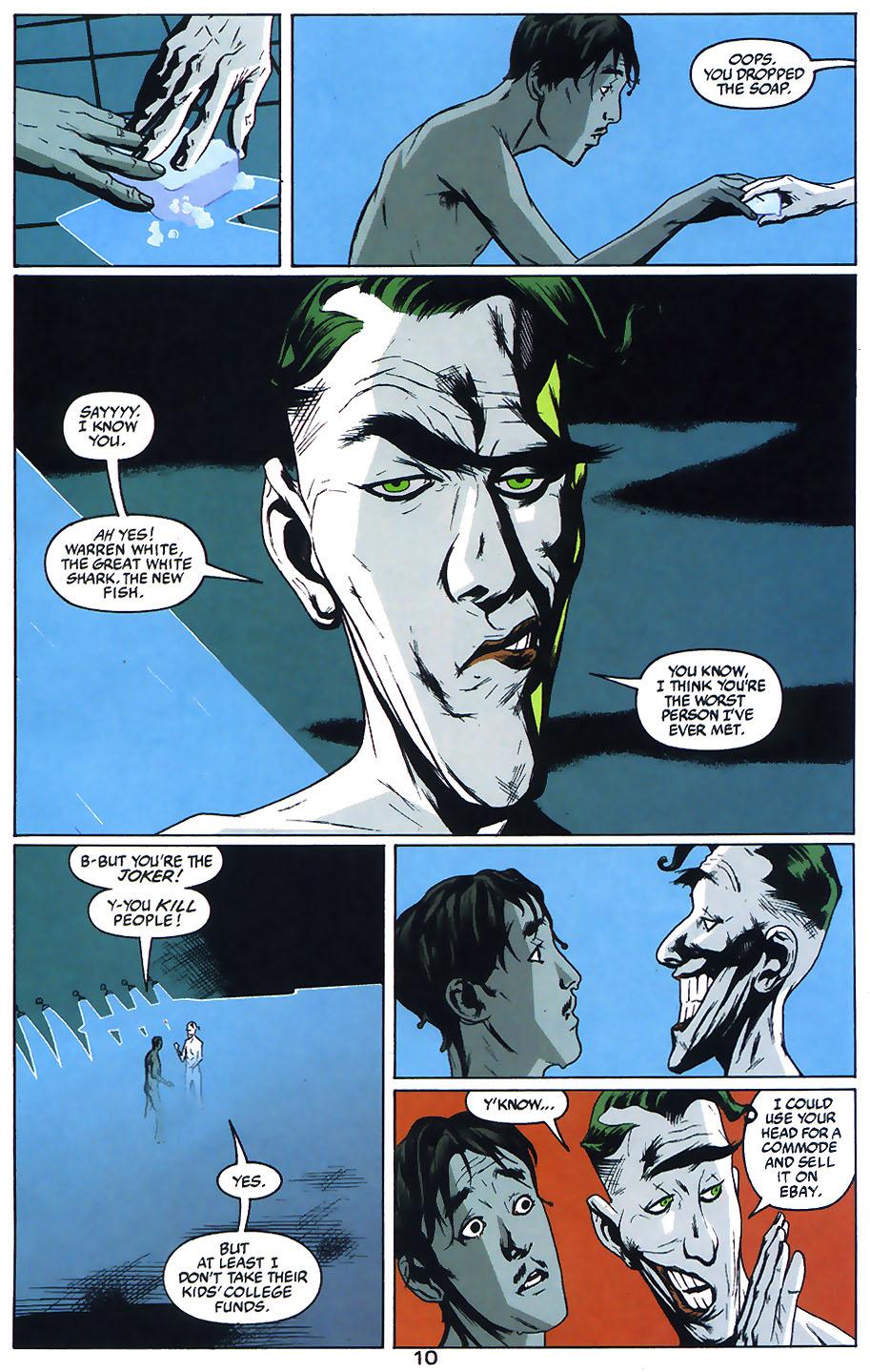 Read online Arkham Asylum: Living Hell comic -  Issue #1 - 12