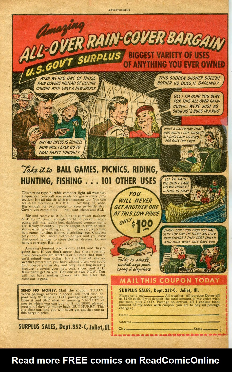Read online Shadow Comics comic -  Issue #96 - 50