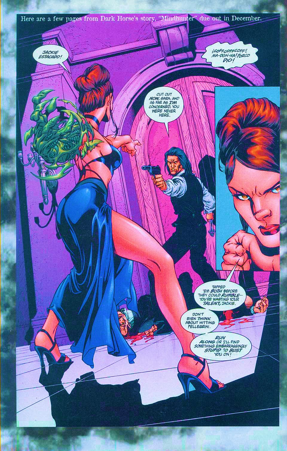 Read online Overkill: Witchblade/Aliens/Darkness/Predator comic -  Issue #1 - 42