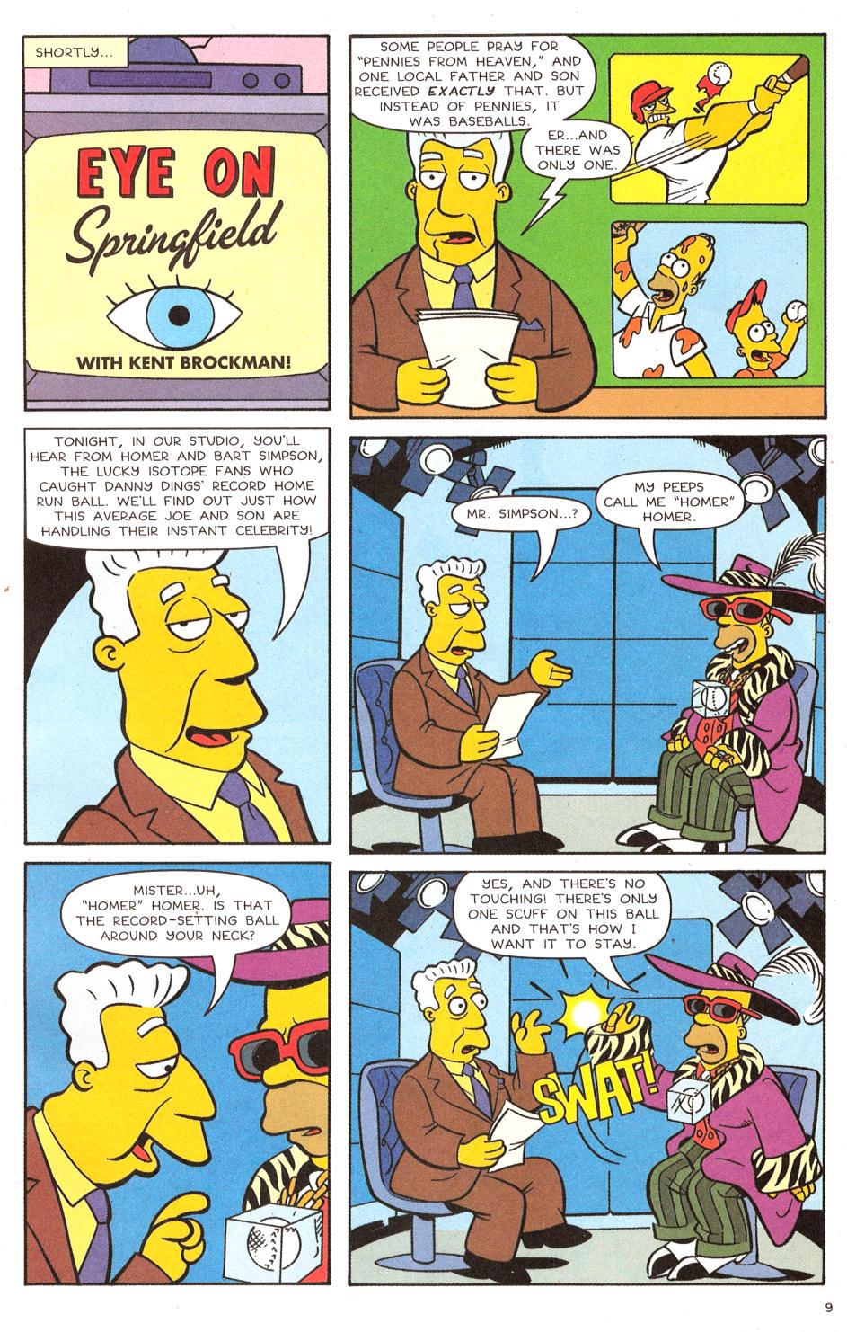 Read online Simpsons Comics comic -  Issue #120 - 8