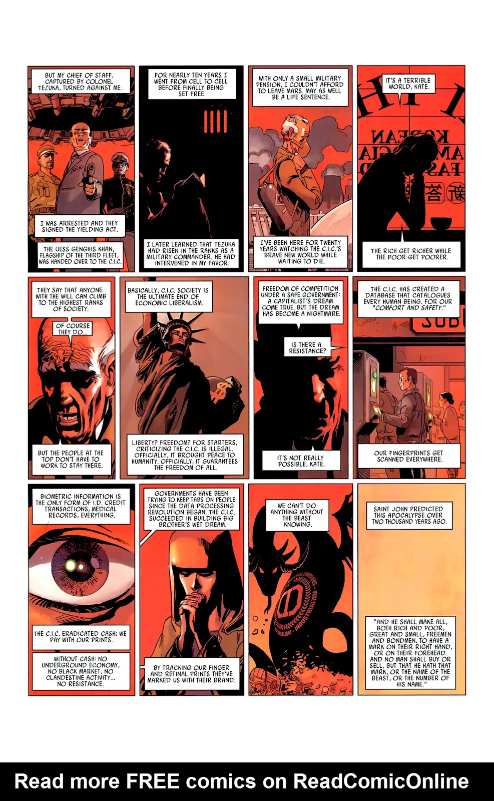 Read online Universal War One: Revelations comic -  Issue #3 - 13