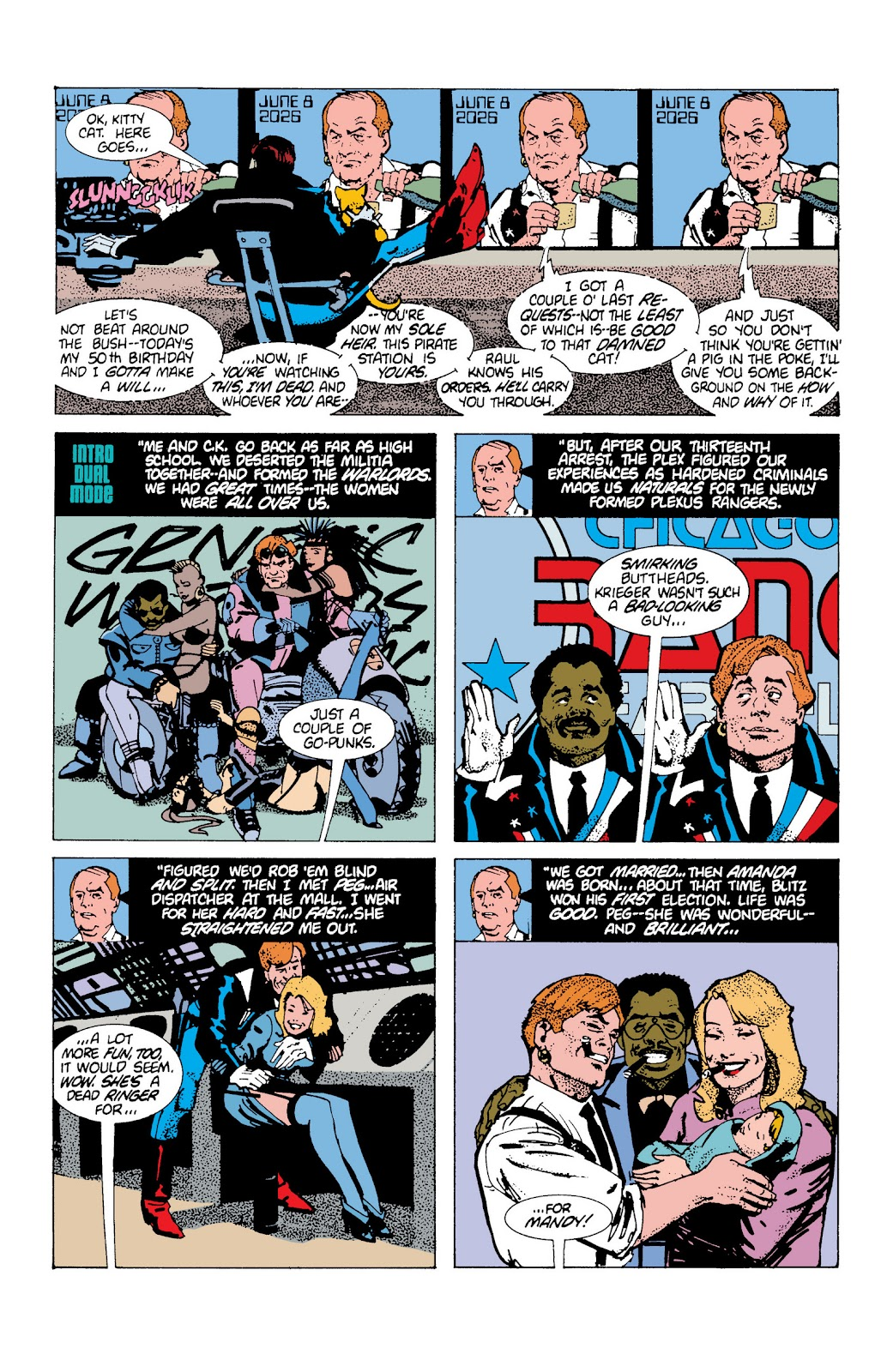 American Flagg! issue Definitive Collection (Part 2) - Page 1