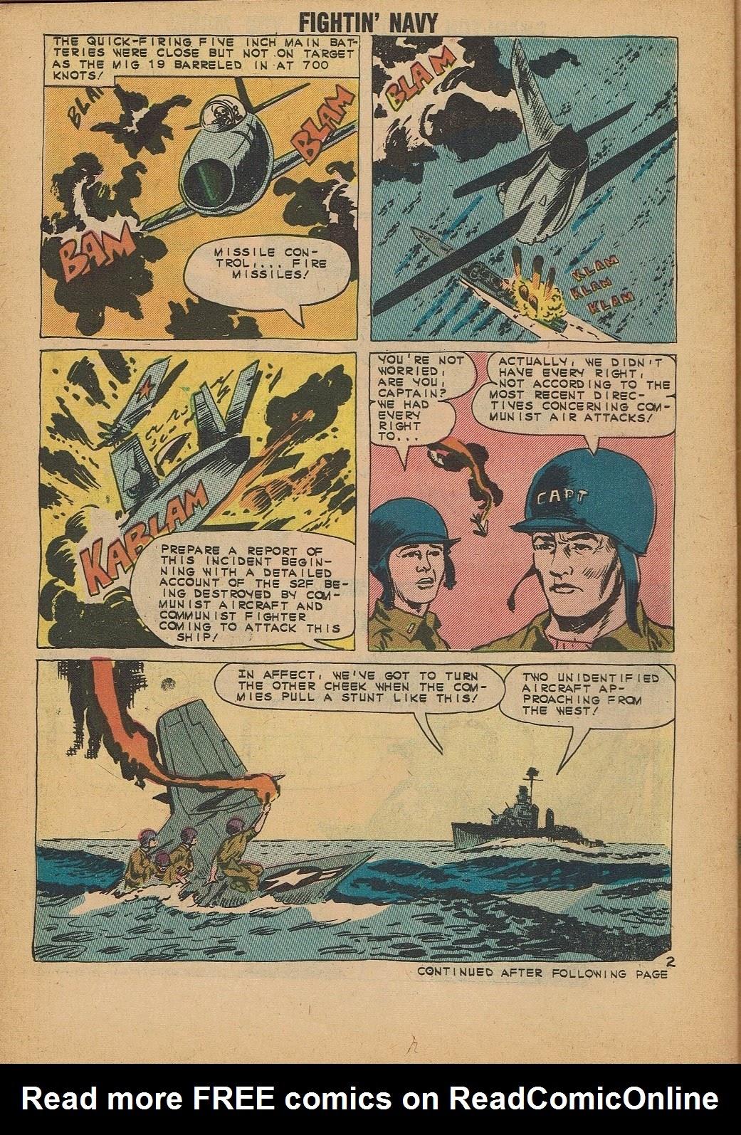 Read online Fightin' Navy comic -  Issue #112 - 30