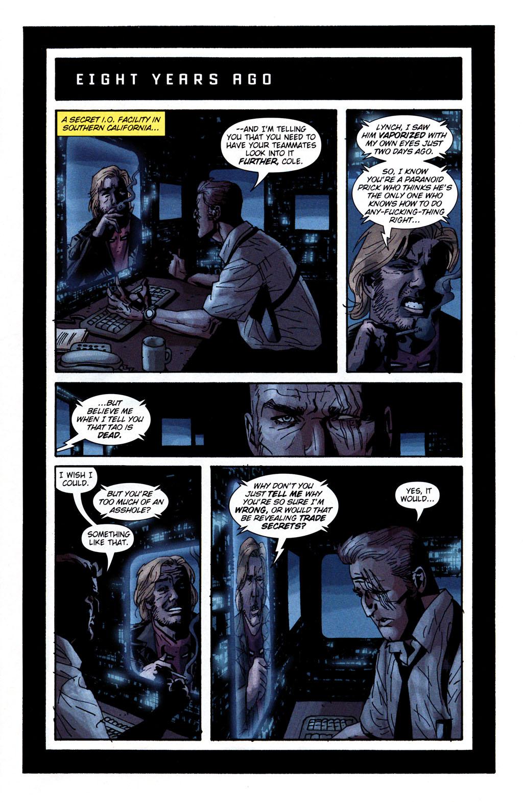 Read online Sleeper: Season Two comic -  Issue #5 - 2