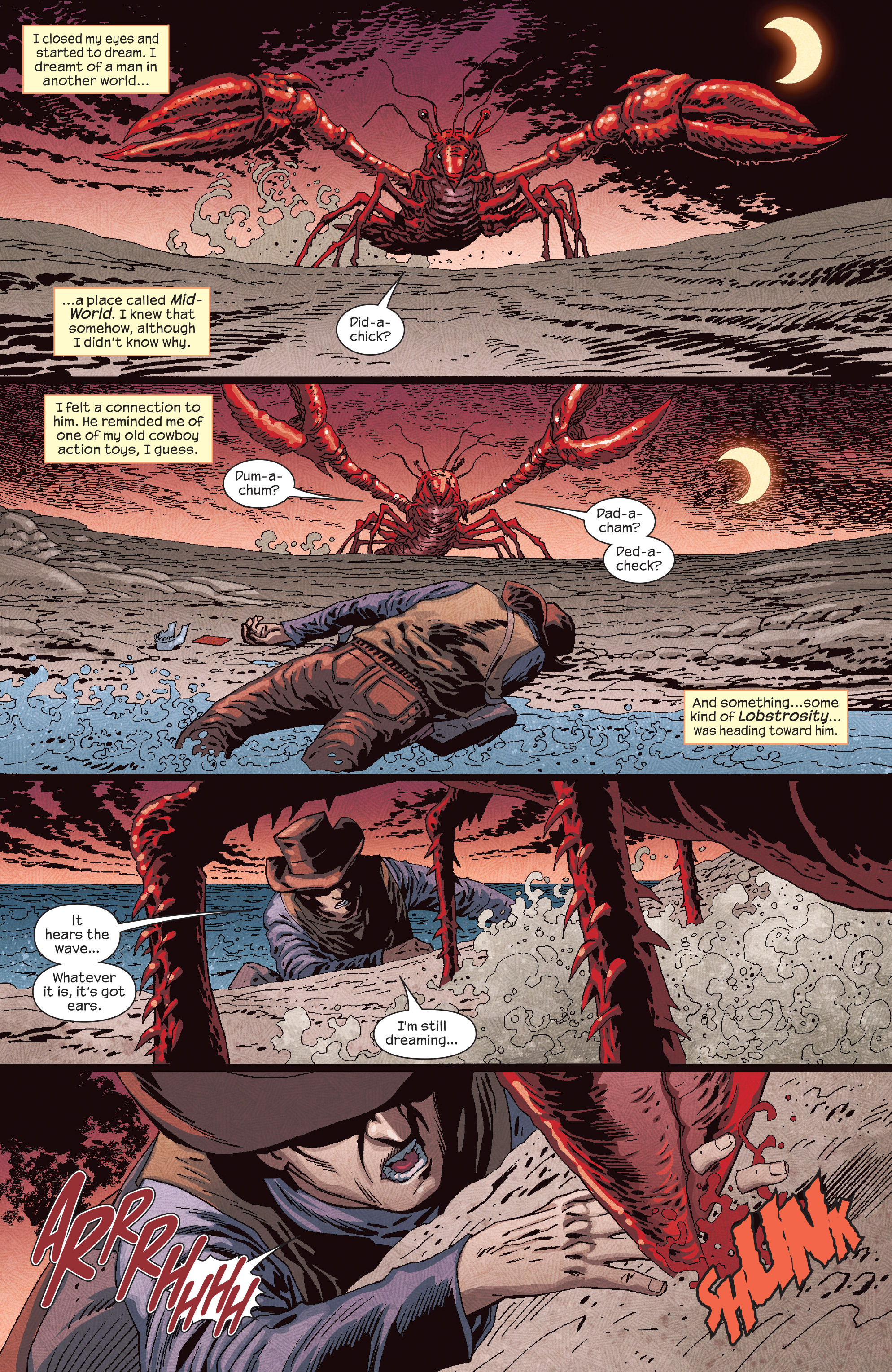 Read online Dark Tower: The Drawing of the Three - The Prisoner comic -  Issue #5 - 5