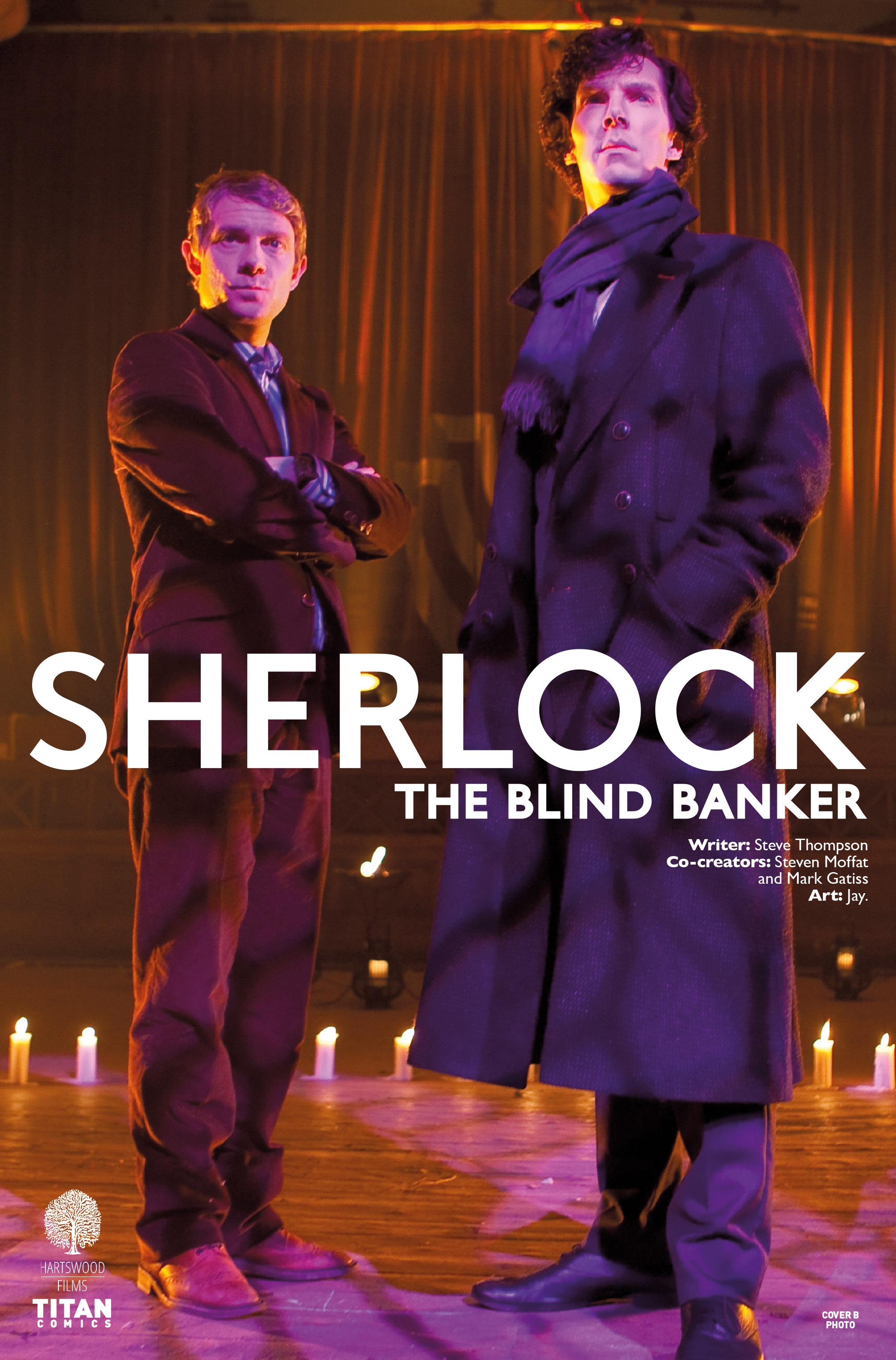 Read online Sherlock: The Blind Banker comic -  Issue #4 - 2