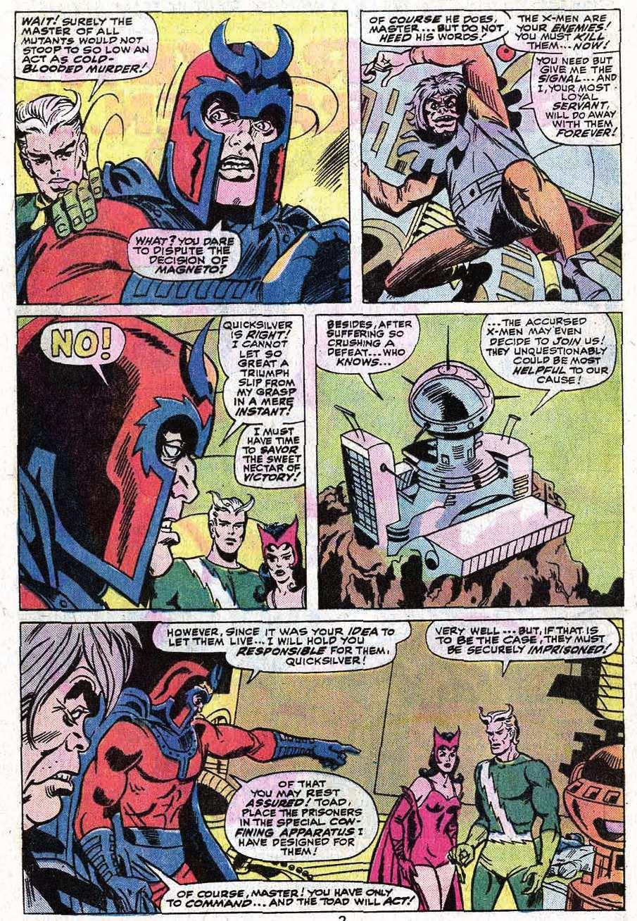 Read online Uncanny X-Men (1963) comic -  Issue #92 - 4