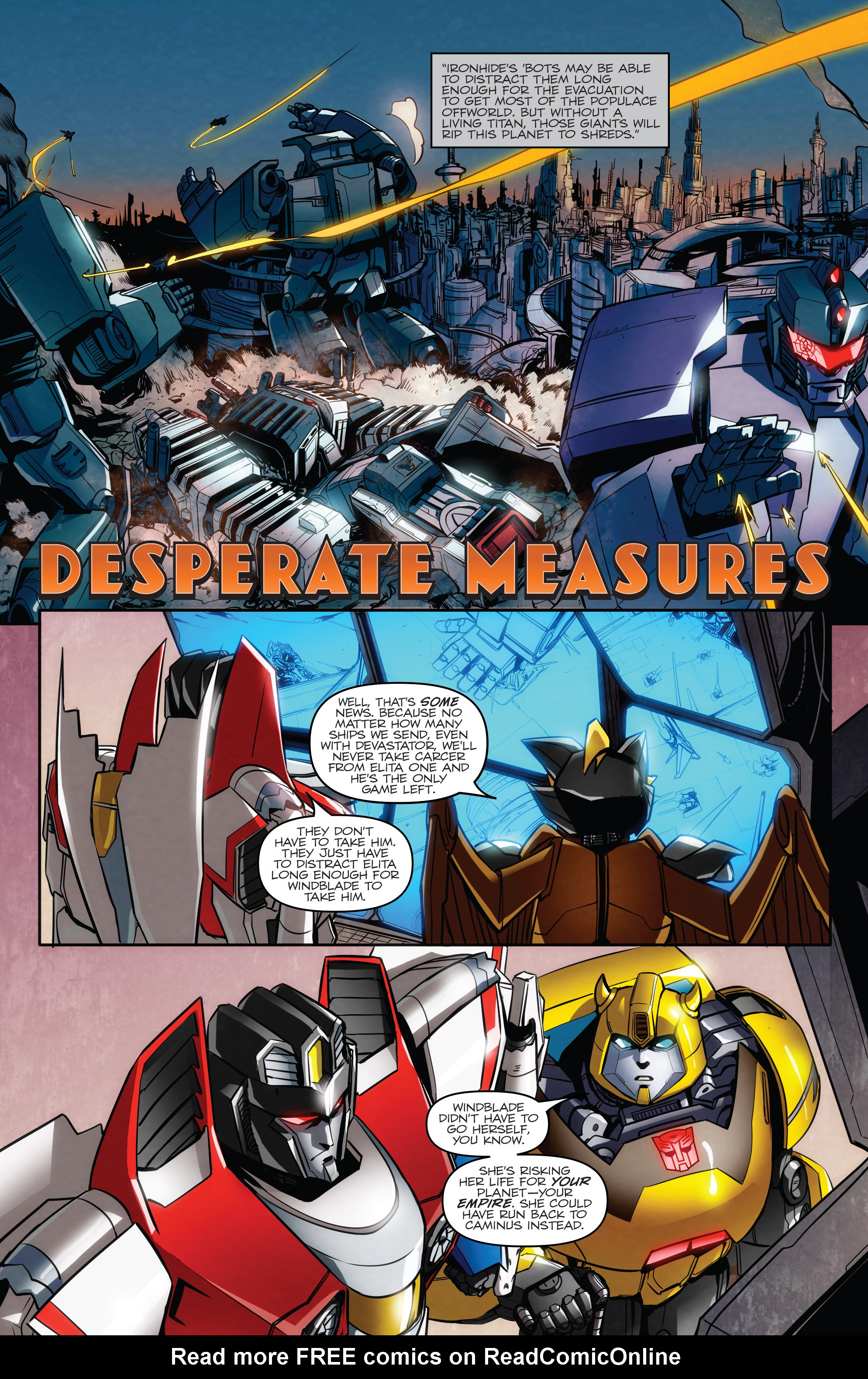Read online Transformers: Till All Are One comic -  Issue #7 - 5