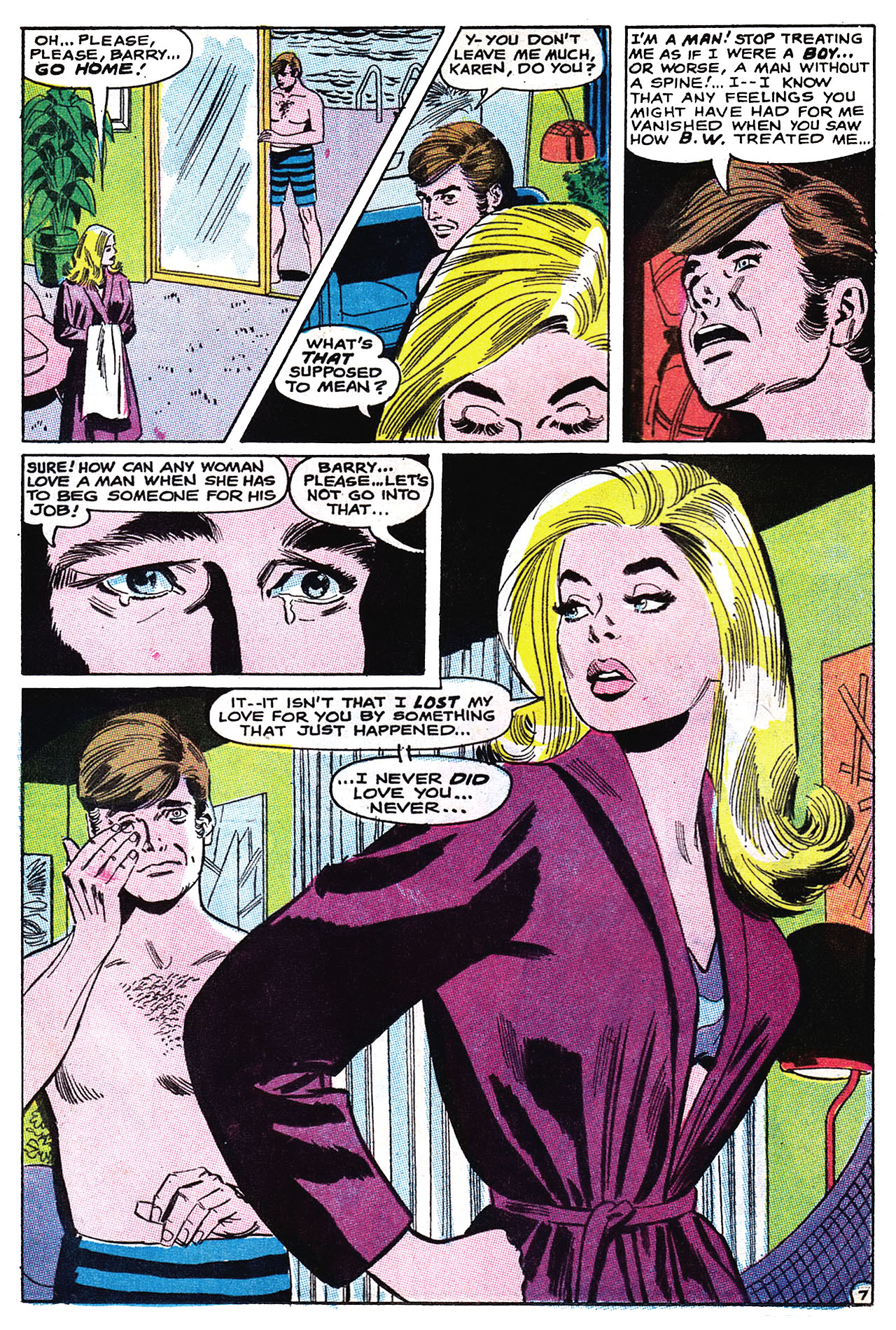 Read online Secret Hearts comic -  Issue #132 - 23