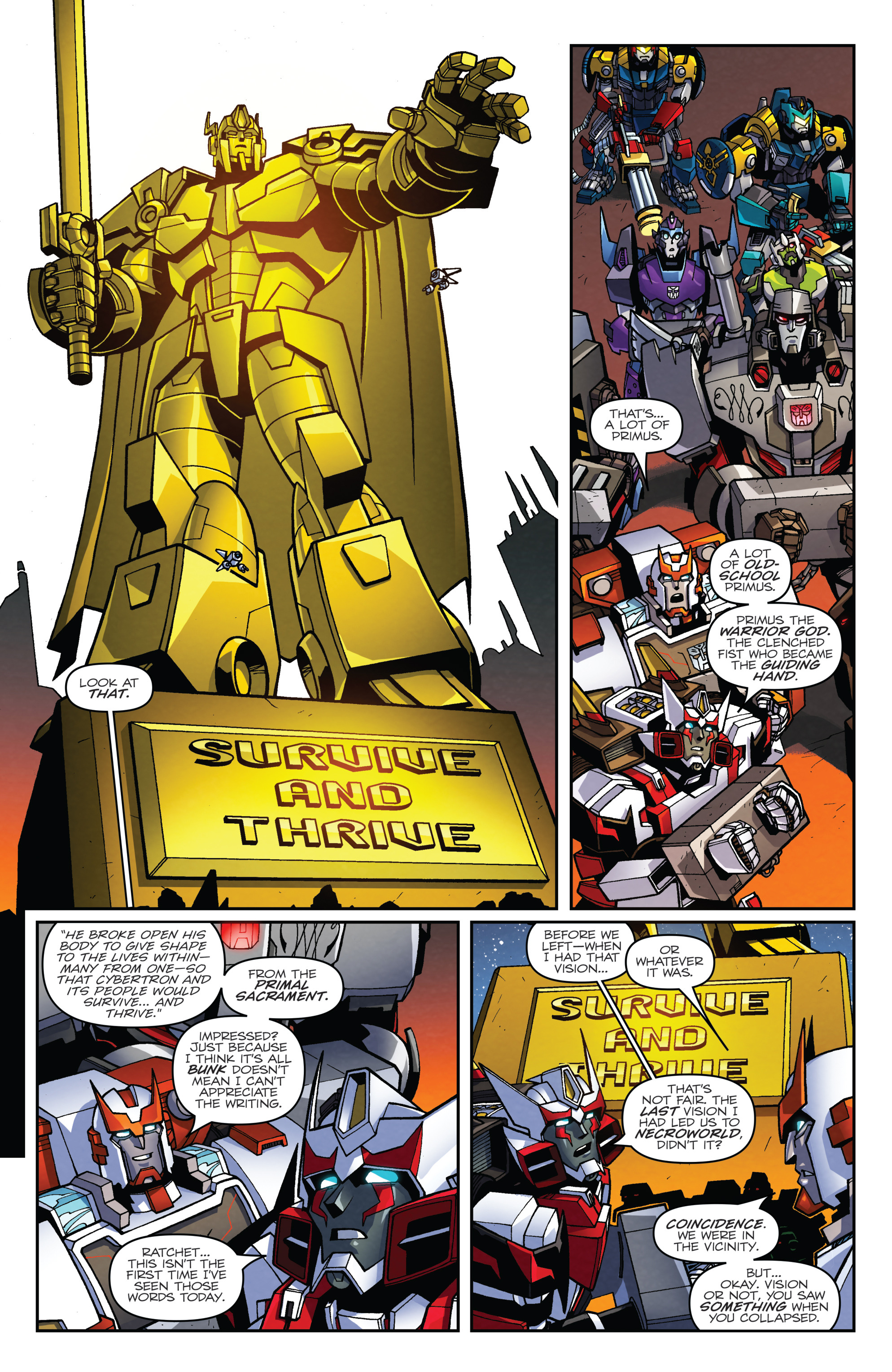 Read online Transformers: Lost Light comic -  Issue #2 - 9