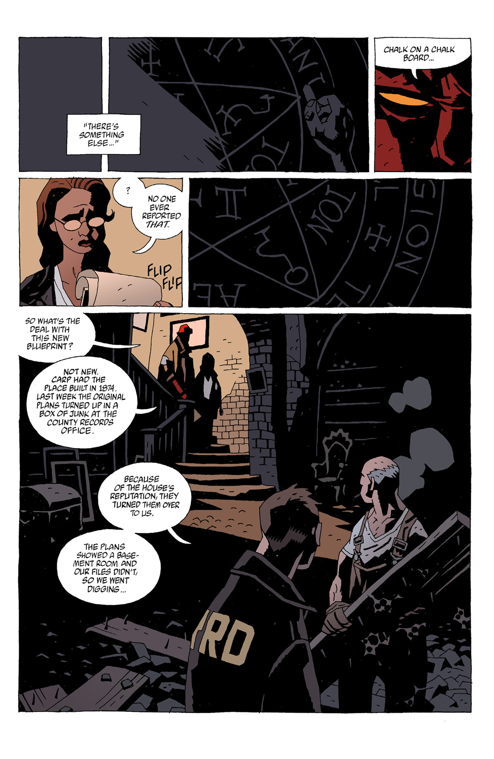 Read online Hellboy: The Troll Witch and Others comic -  Issue # TPB - 59