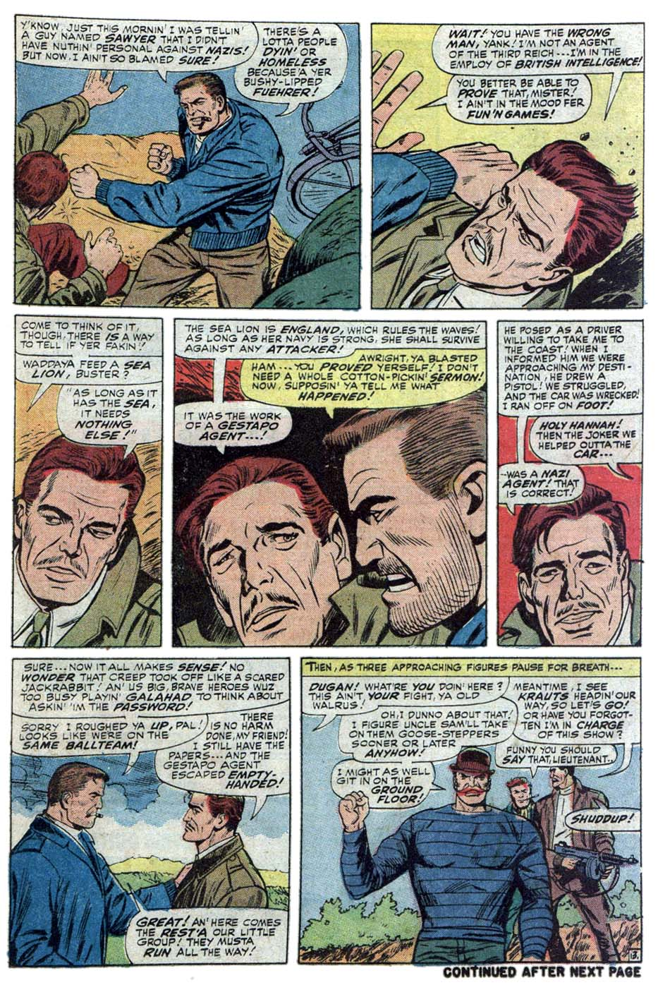 Read online Sgt. Fury comic -  Issue #101 - 21