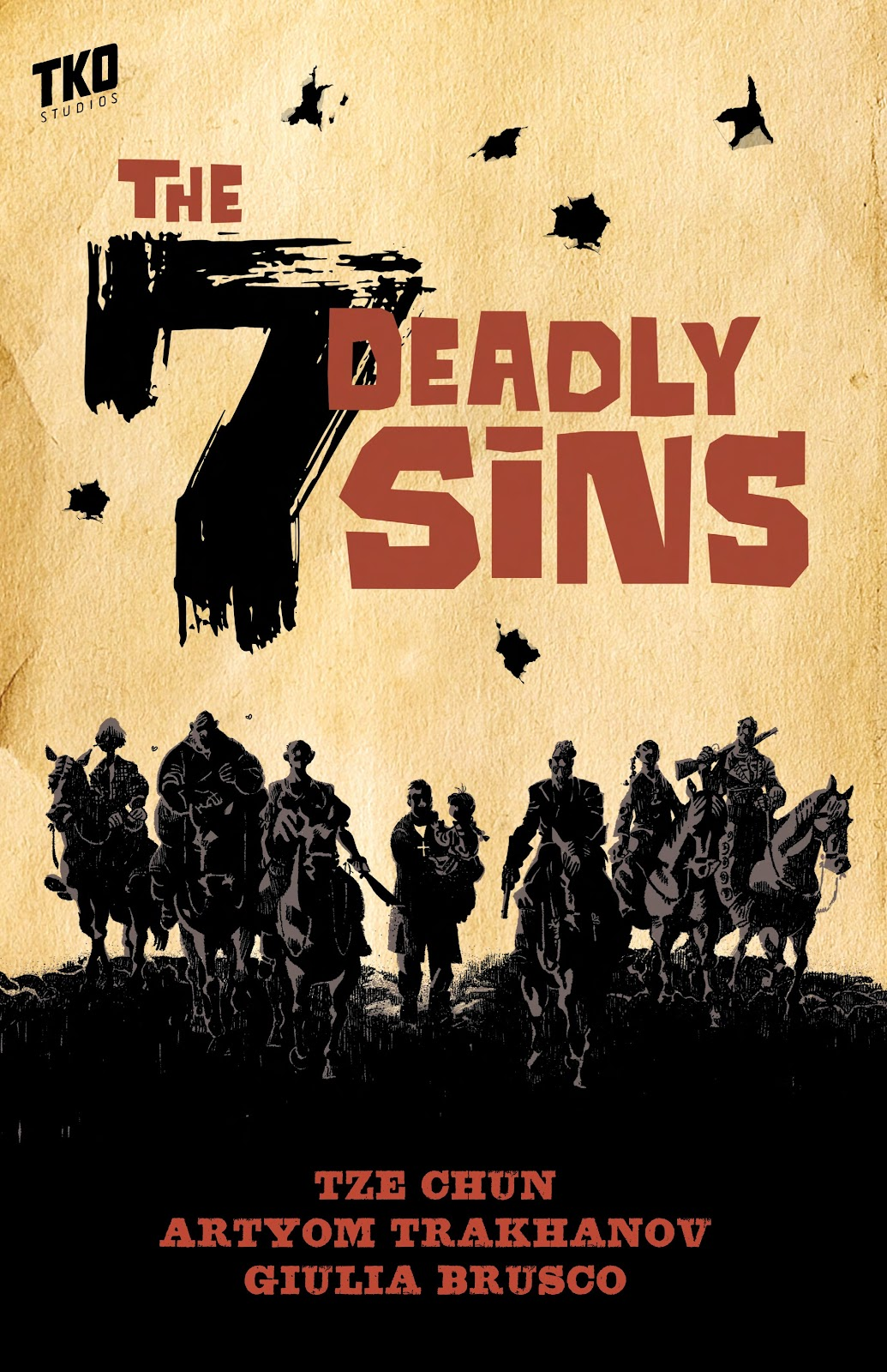 Read online The Seven Deadly Sins comic -  Issue # TPB (Part 1) - 1
