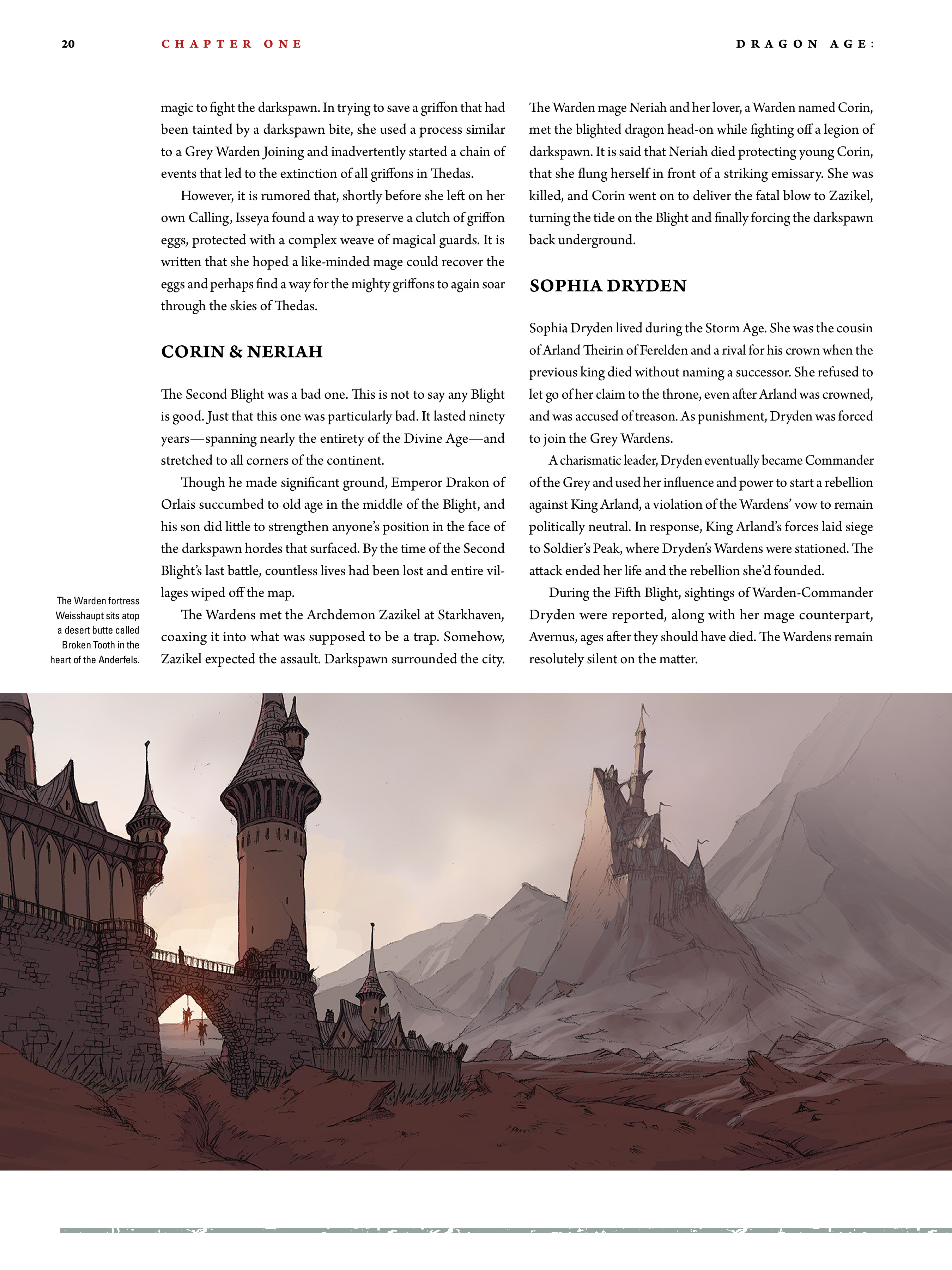 Read online Dragon Age: The World of Thedas comic -  Issue # TPB 2 - 18