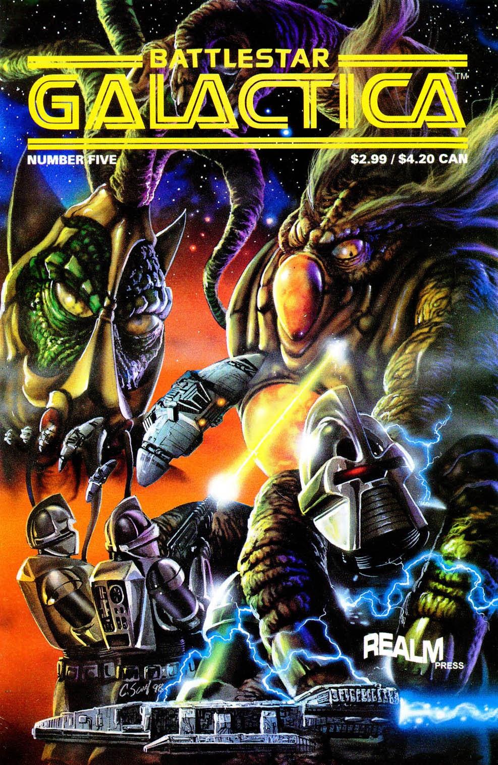 Battlestar Galactica (1997) 5 Page 1