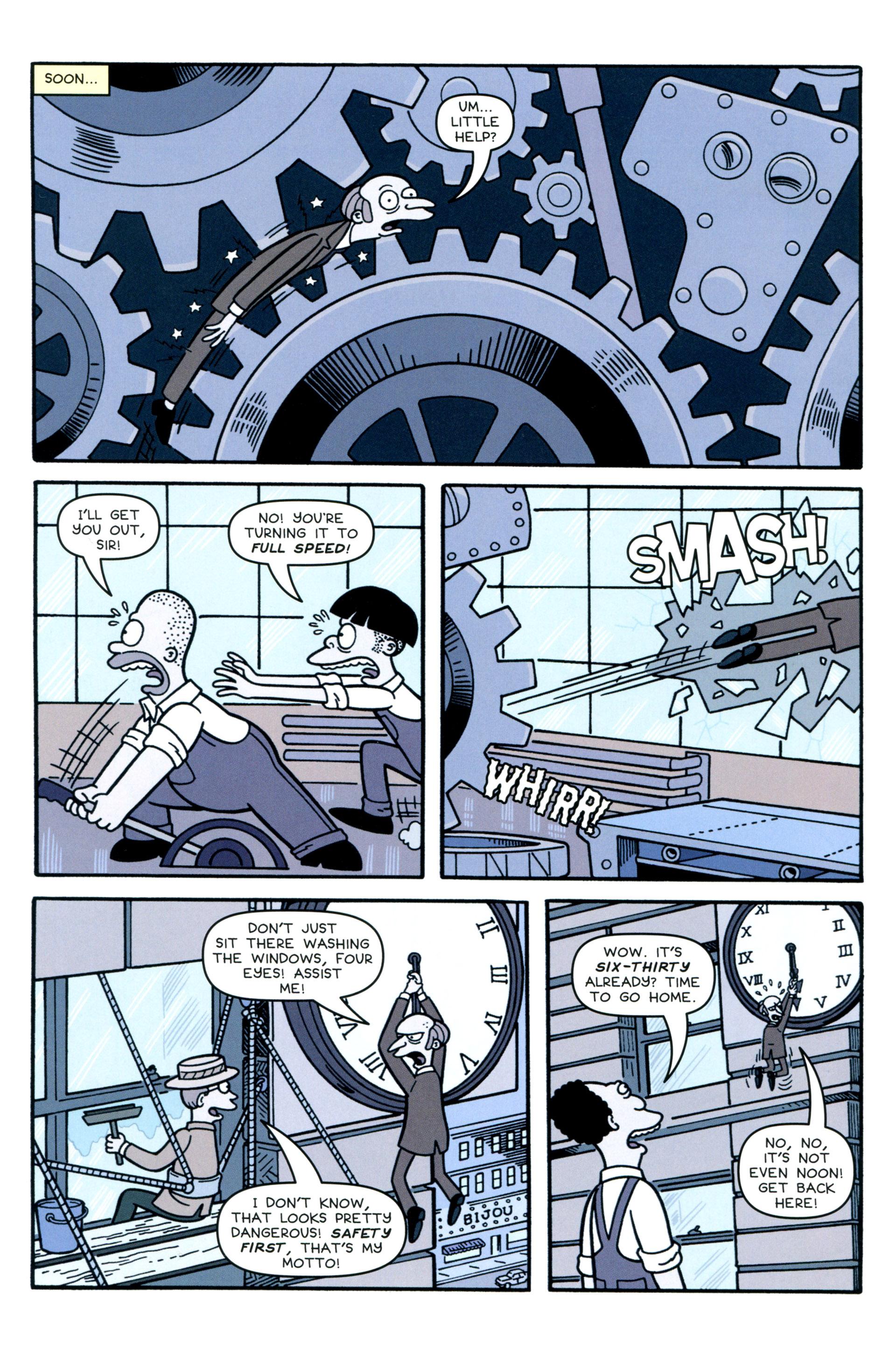 Read online Simpsons Comics comic -  Issue #207 - 16