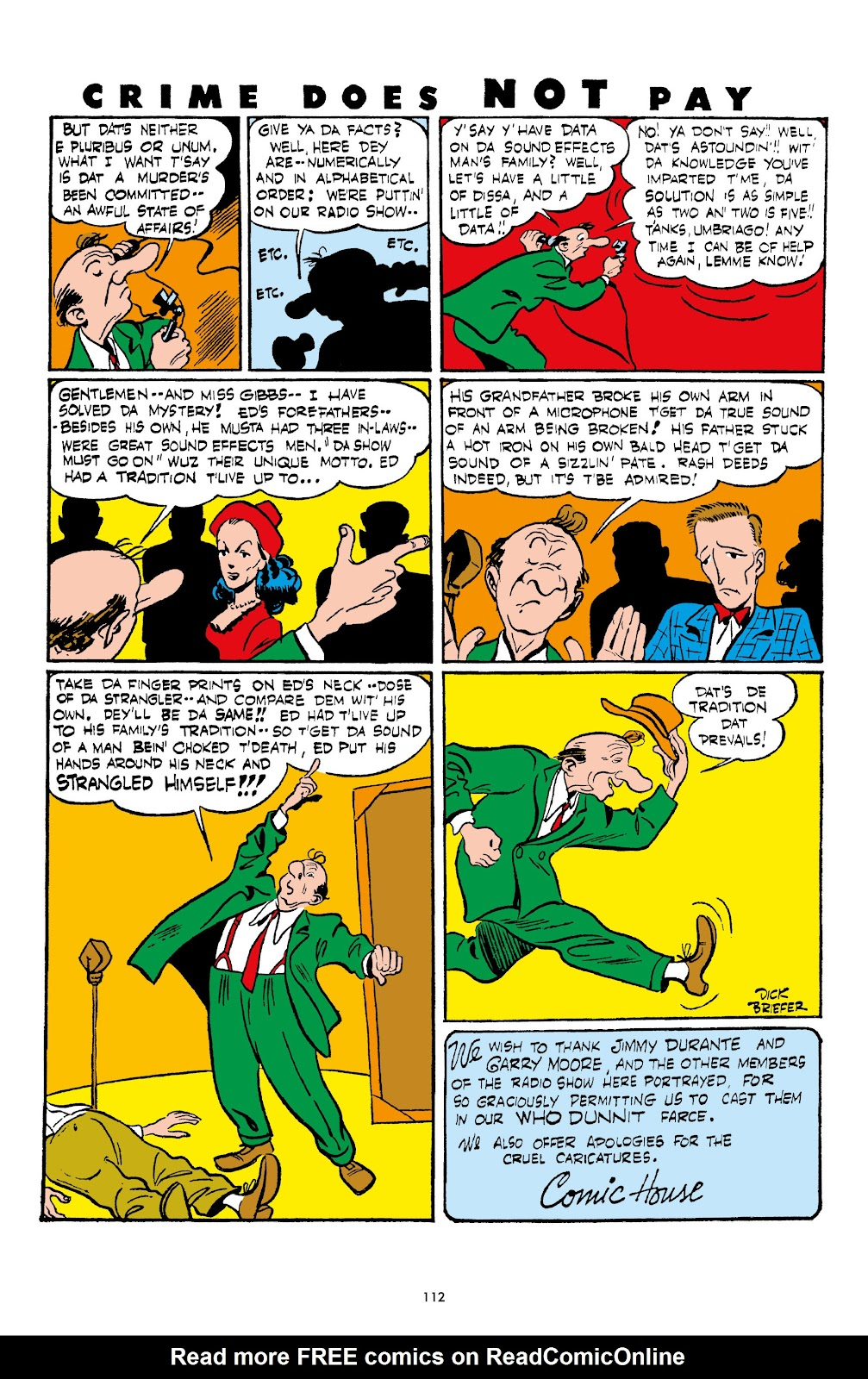 Read online Crime Does Not Pay Archives comic -  Issue # TPB 4 (Part 2) - 12