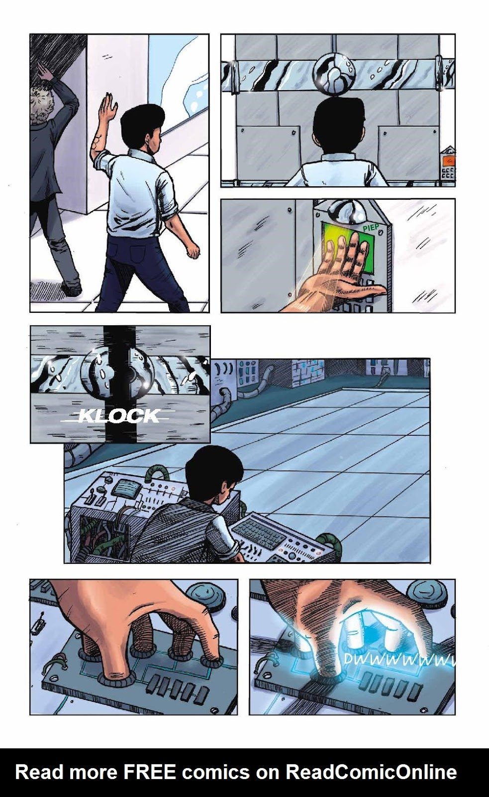 Read online Wolvv comic -  Issue #1 - 13