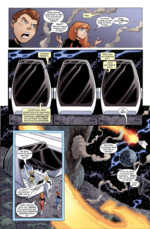 Read online Skrulls vs. Power Pack comic -  Issue #2 - 9