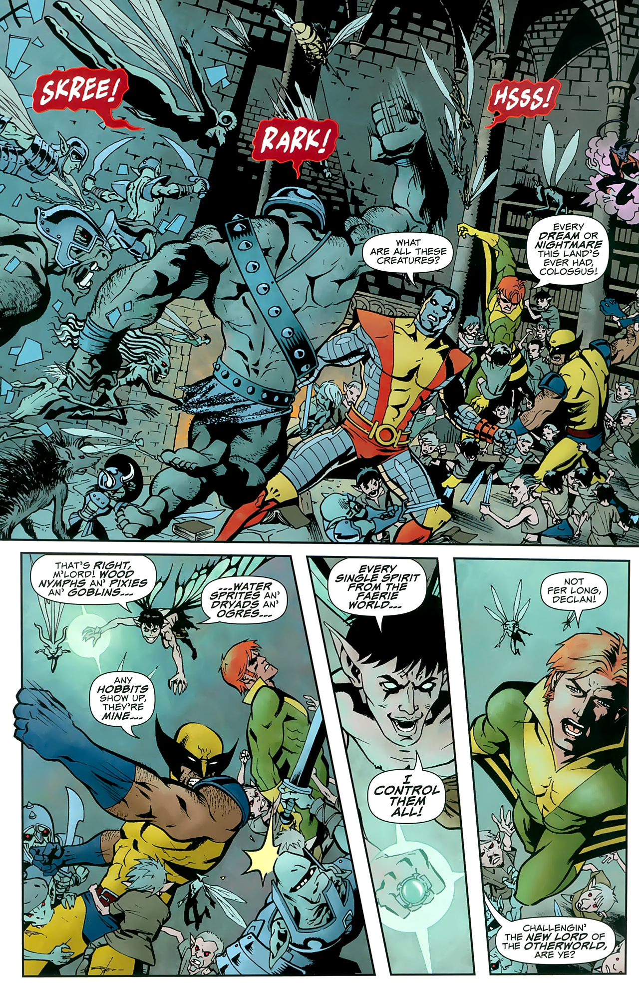 Read online Uncanny X-Men: First Class comic -  Issue #8 - 18