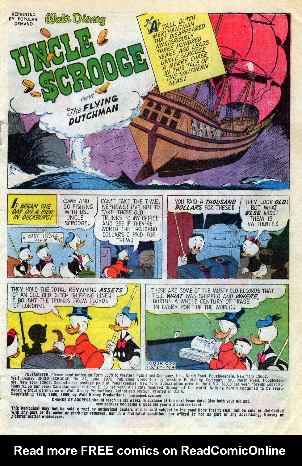Read online Uncle Scrooge (1953) comic -  Issue #87 - 2