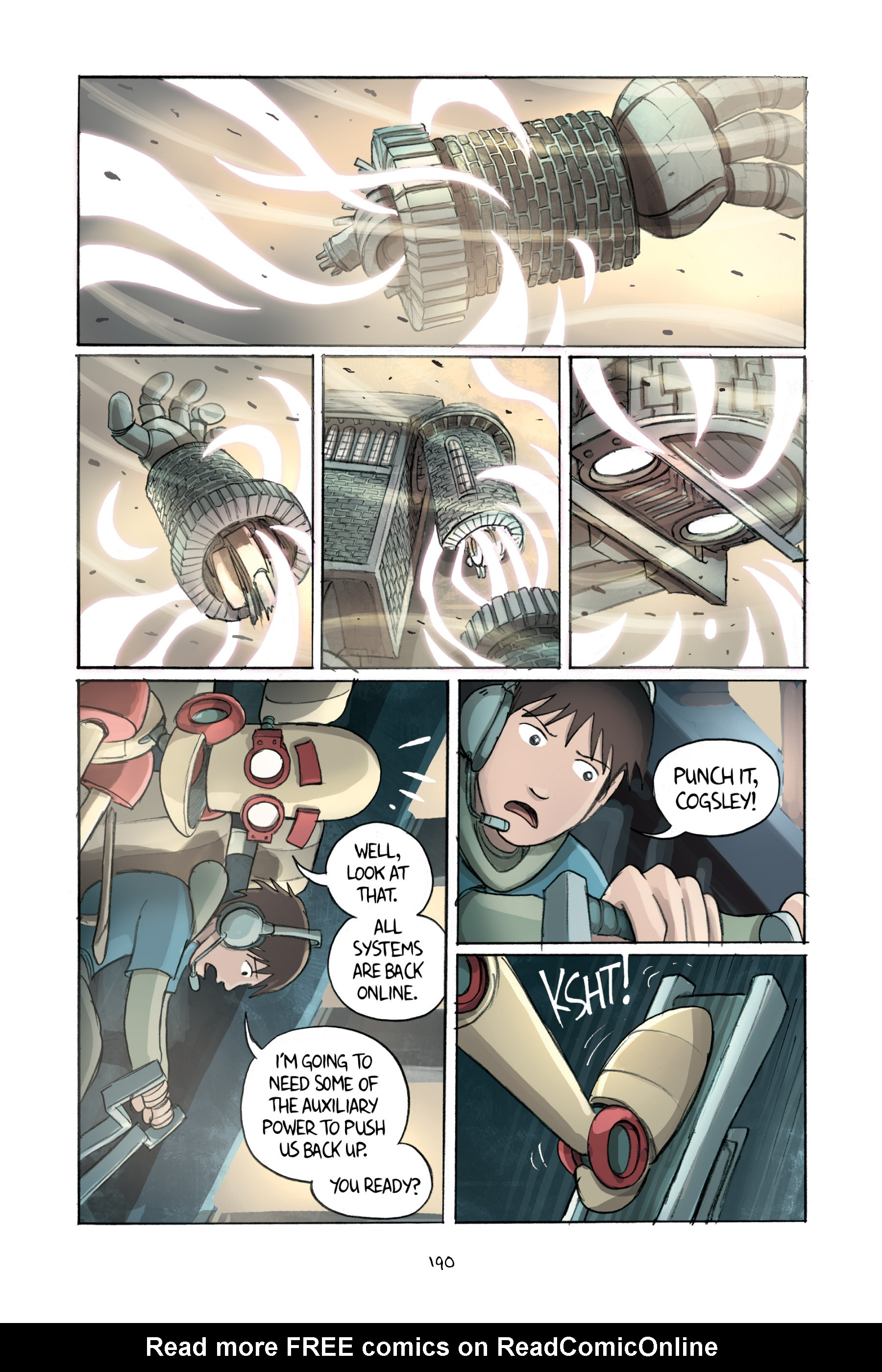 Read online Amulet comic -  Issue #2 - 189