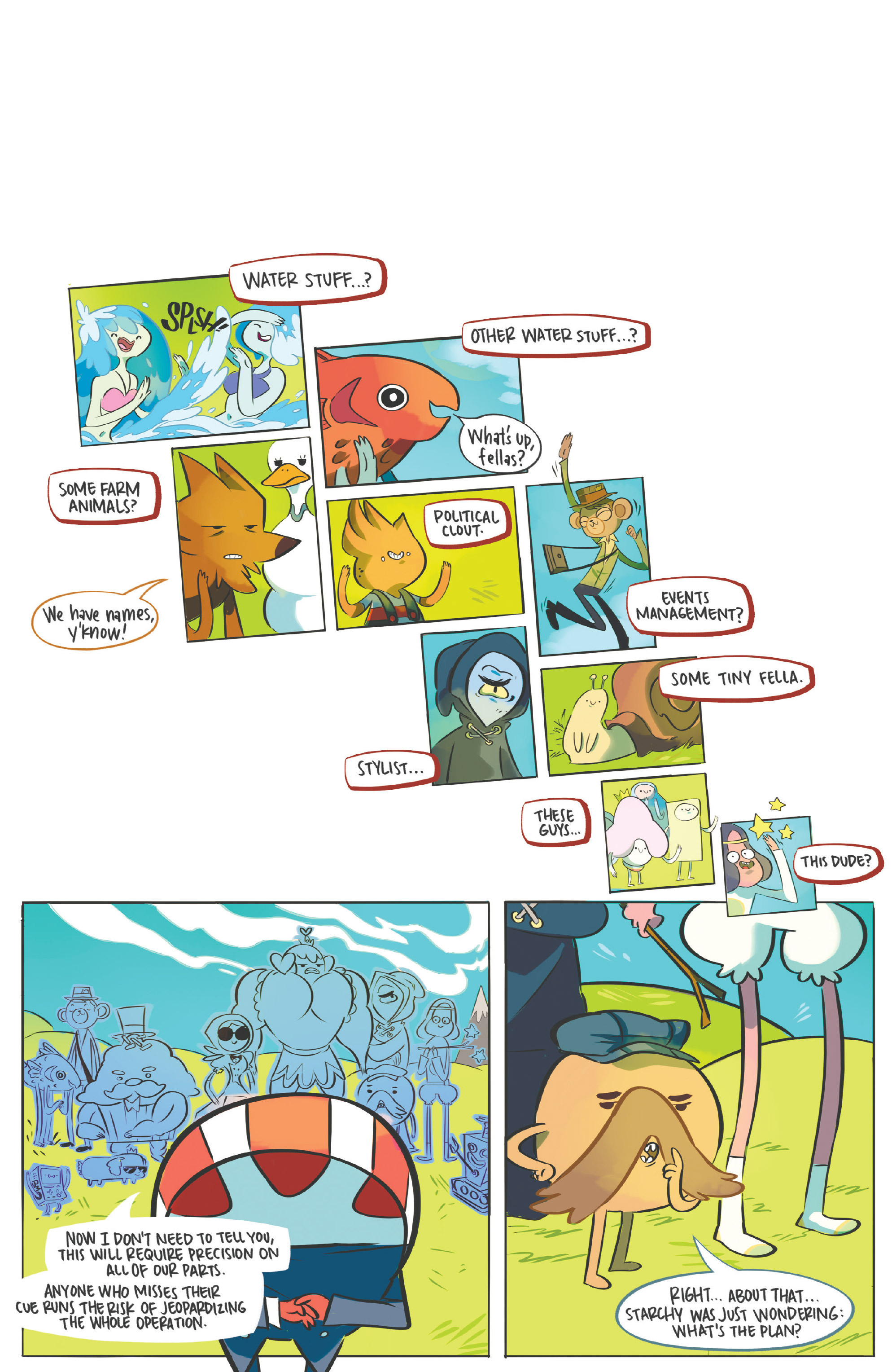 Read online Adventure Time: Candy Capers comic -  Issue #5 - 23