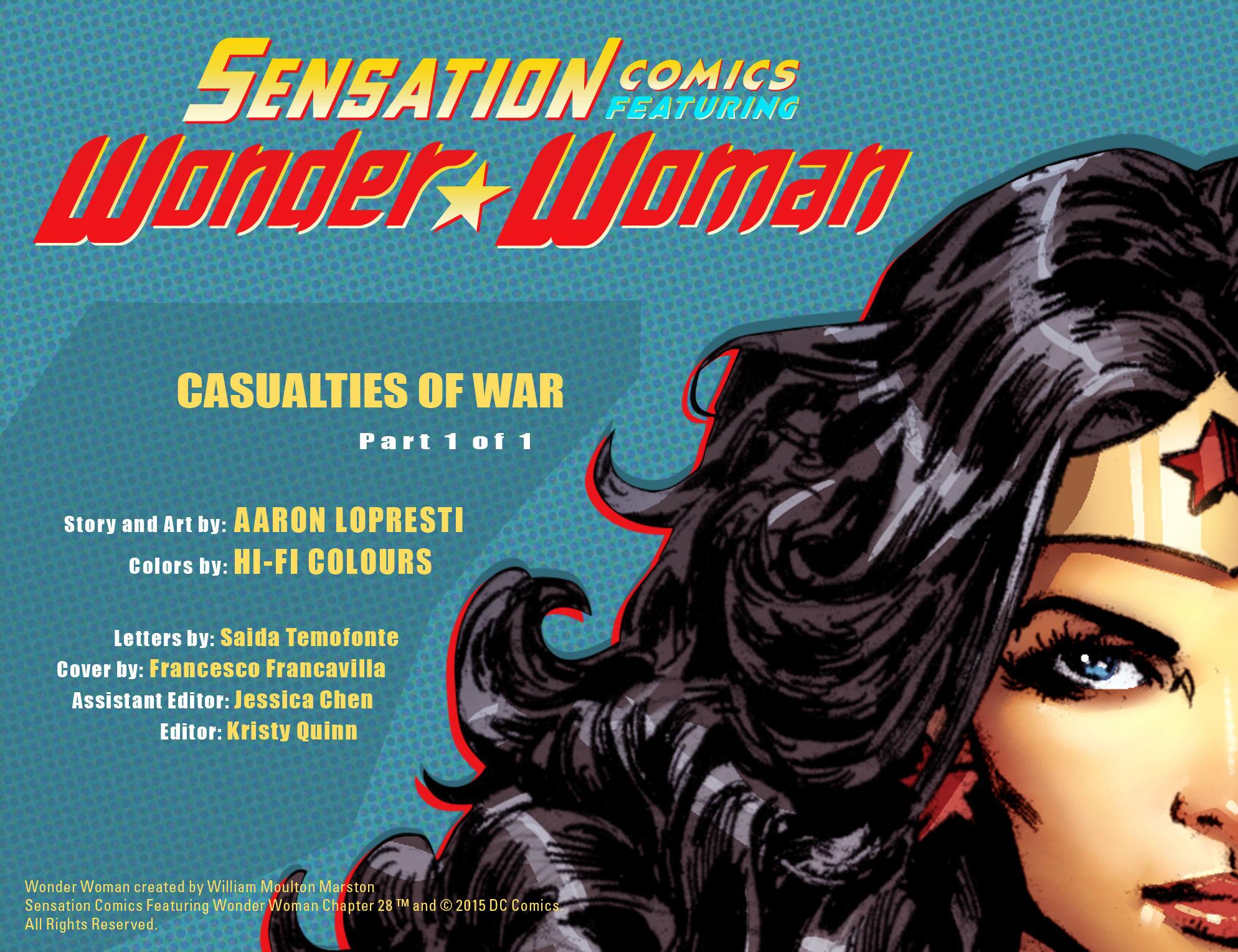 Read online Sensation Comics Featuring Wonder Woman comic -  Issue #28 - 2
