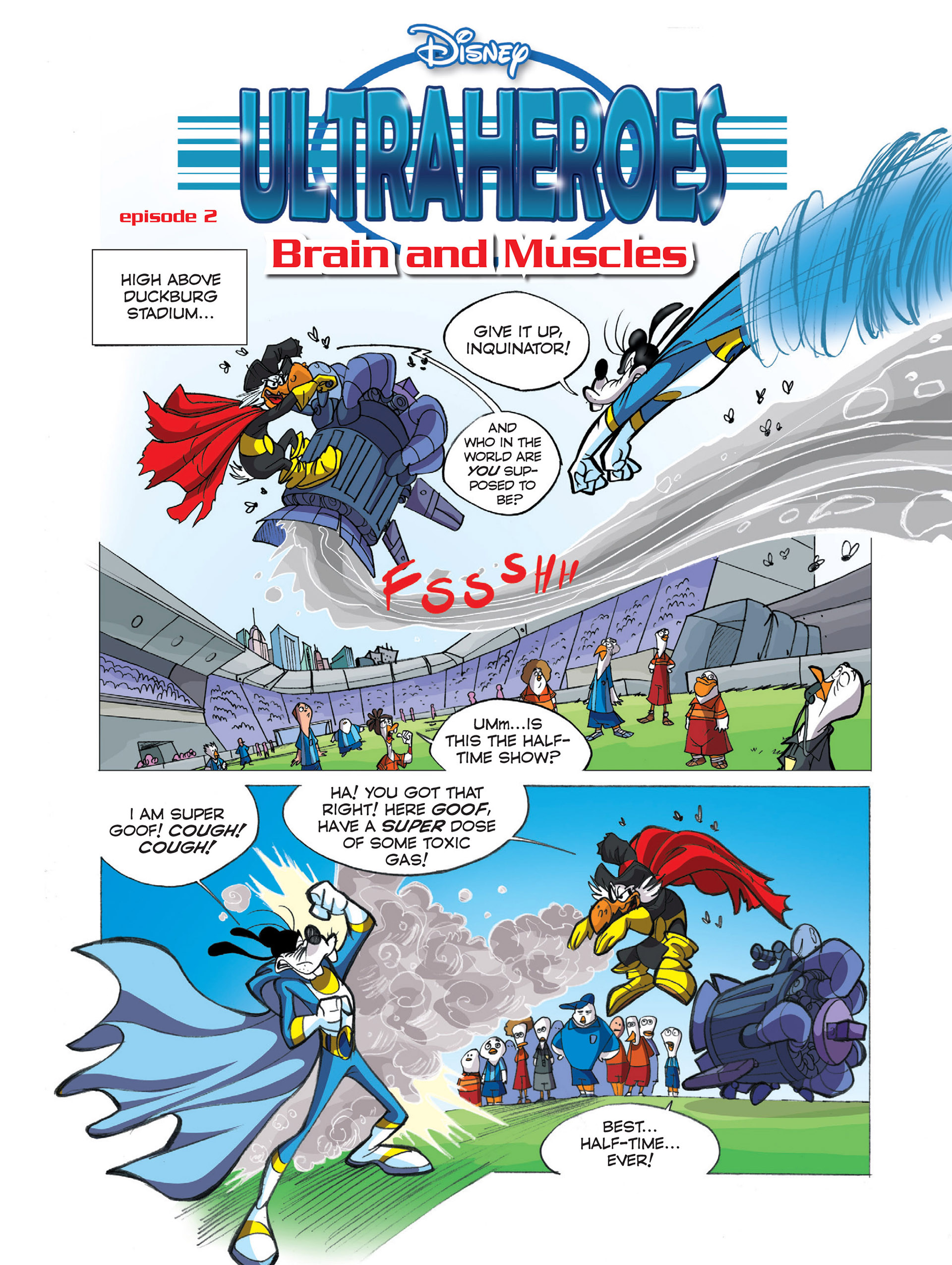 Read online Ultraheroes comic -  Issue #2 - 2