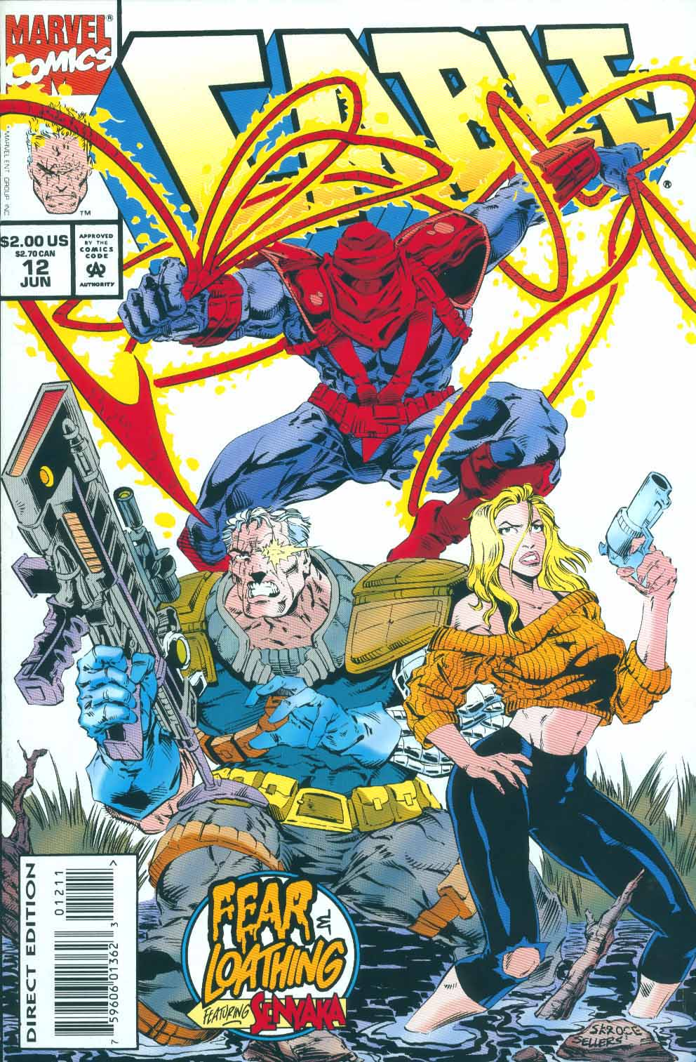 Cable (1993) 12 Page 1