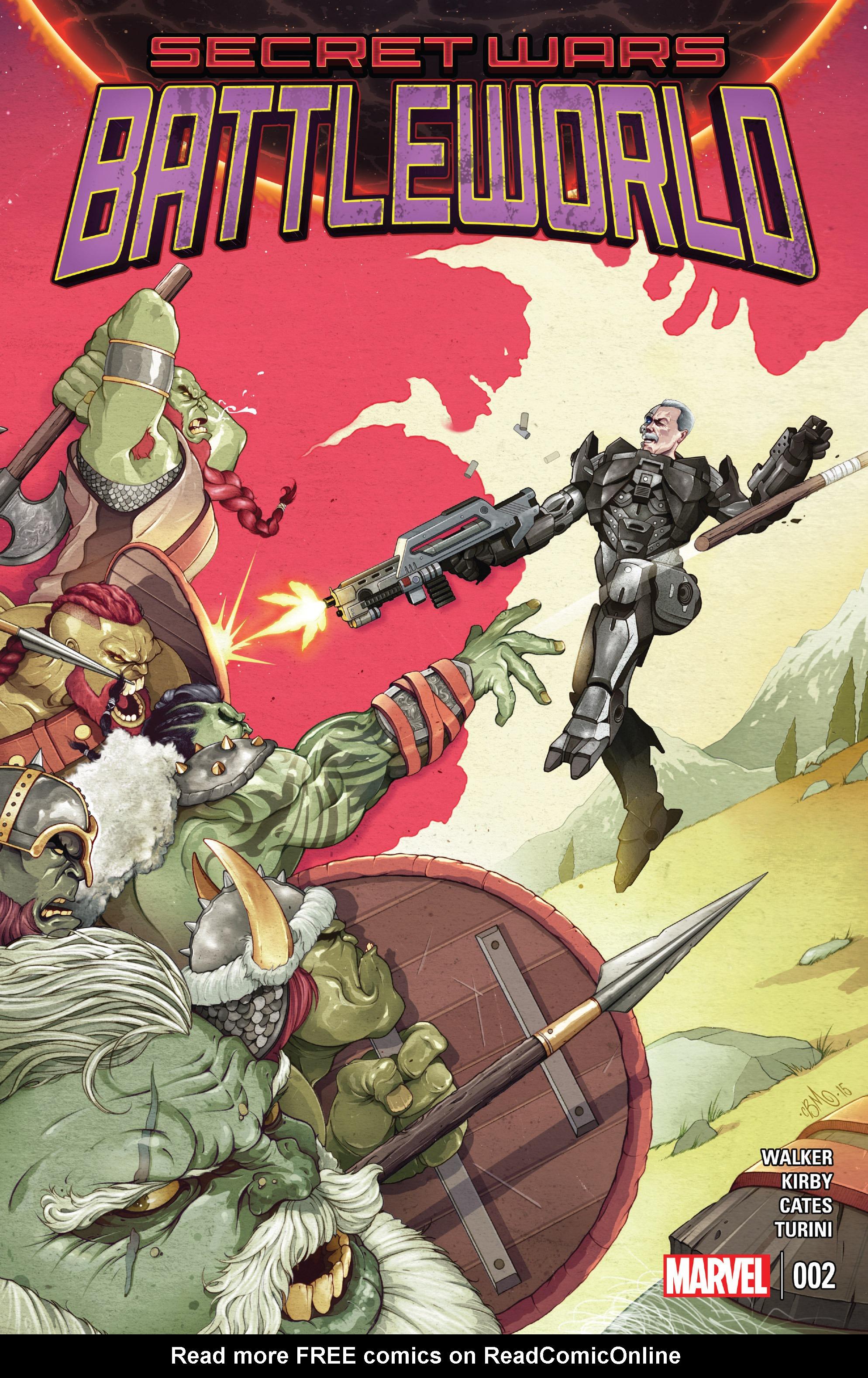 Read online Secret Wars: Battleworld comic -  Issue #2 - 1