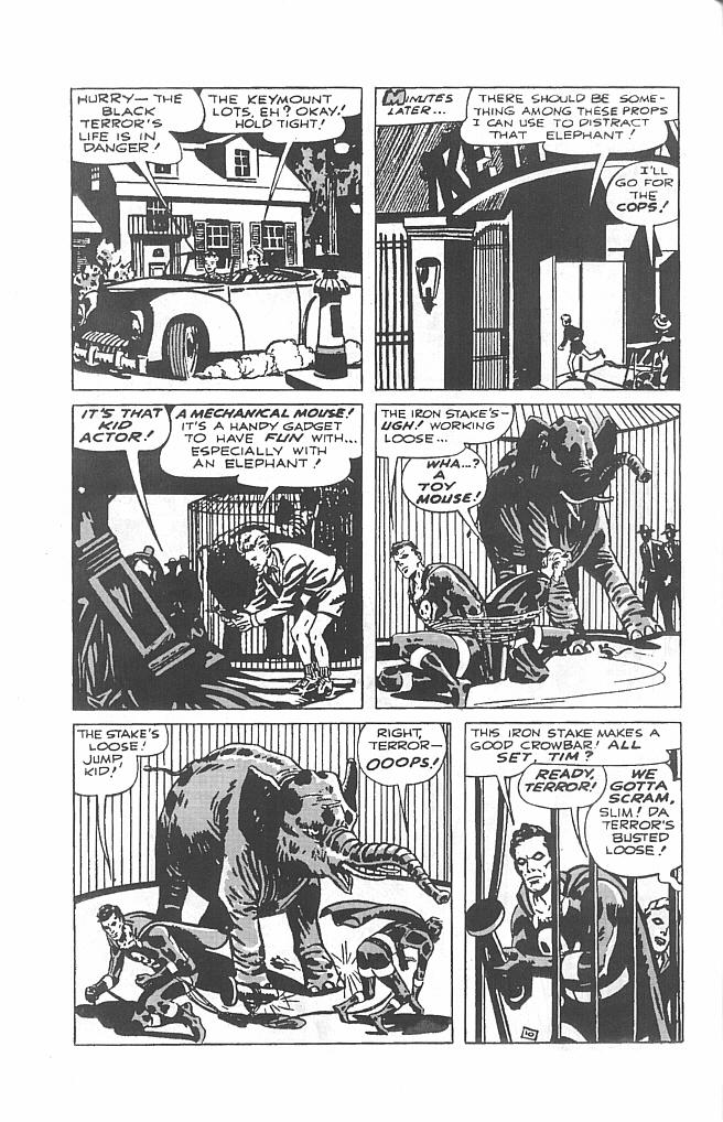 Read online Golden-Age Men of Mystery comic -  Issue #6 - 12