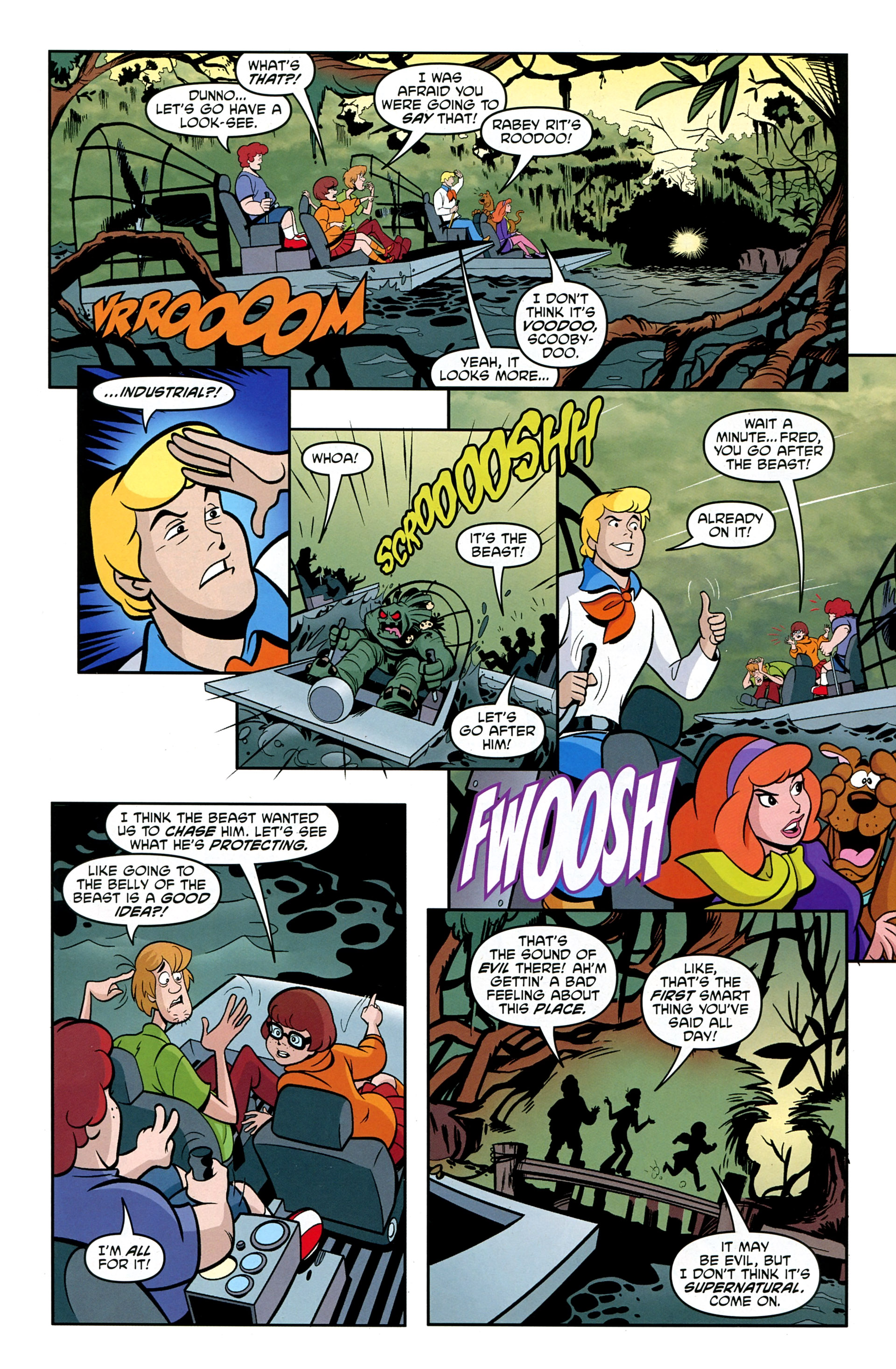 Read online Scooby-Doo: Where Are You? comic -  Issue #33 - 27