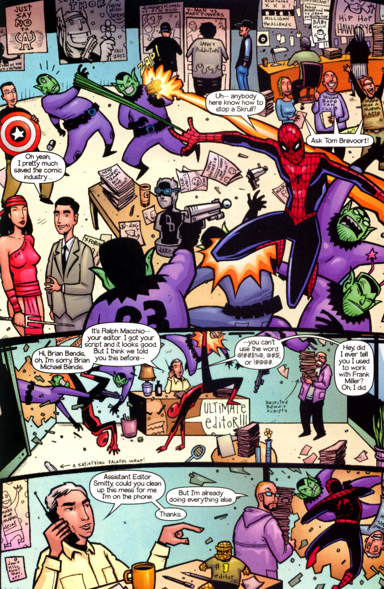 Read online Ultimate Marvel Team-Up comic -  Issue #9 - 26
