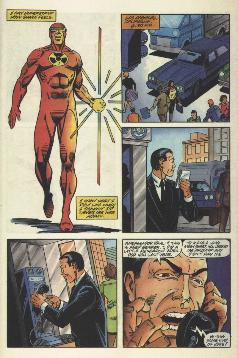 Read online Solar, Man of the Atom comic -  Issue #15 - 15