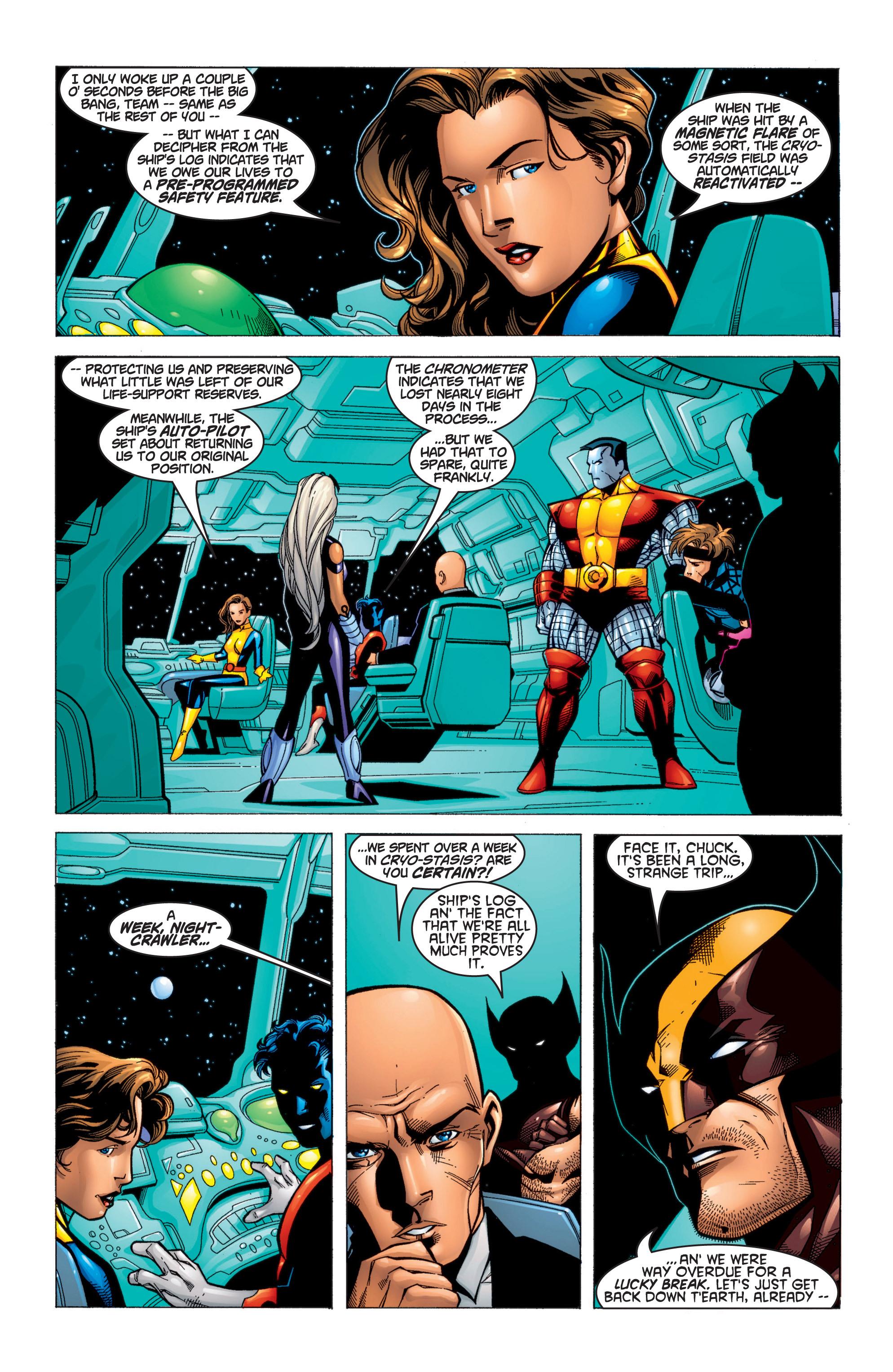 Read online Uncanny X-Men (1963) comic -  Issue #371 - 7
