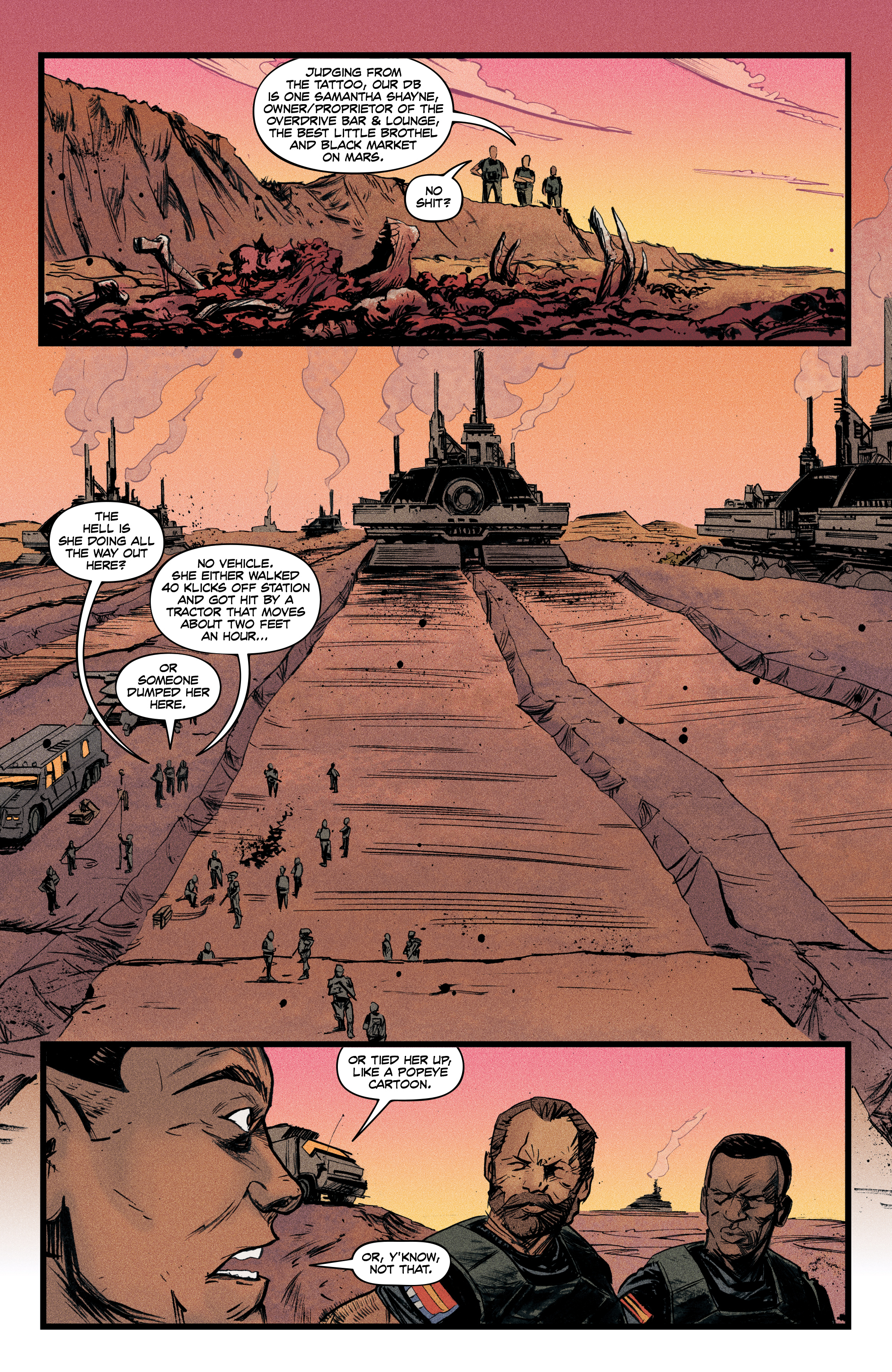 Read online Redline comic -  Issue #4 - 8