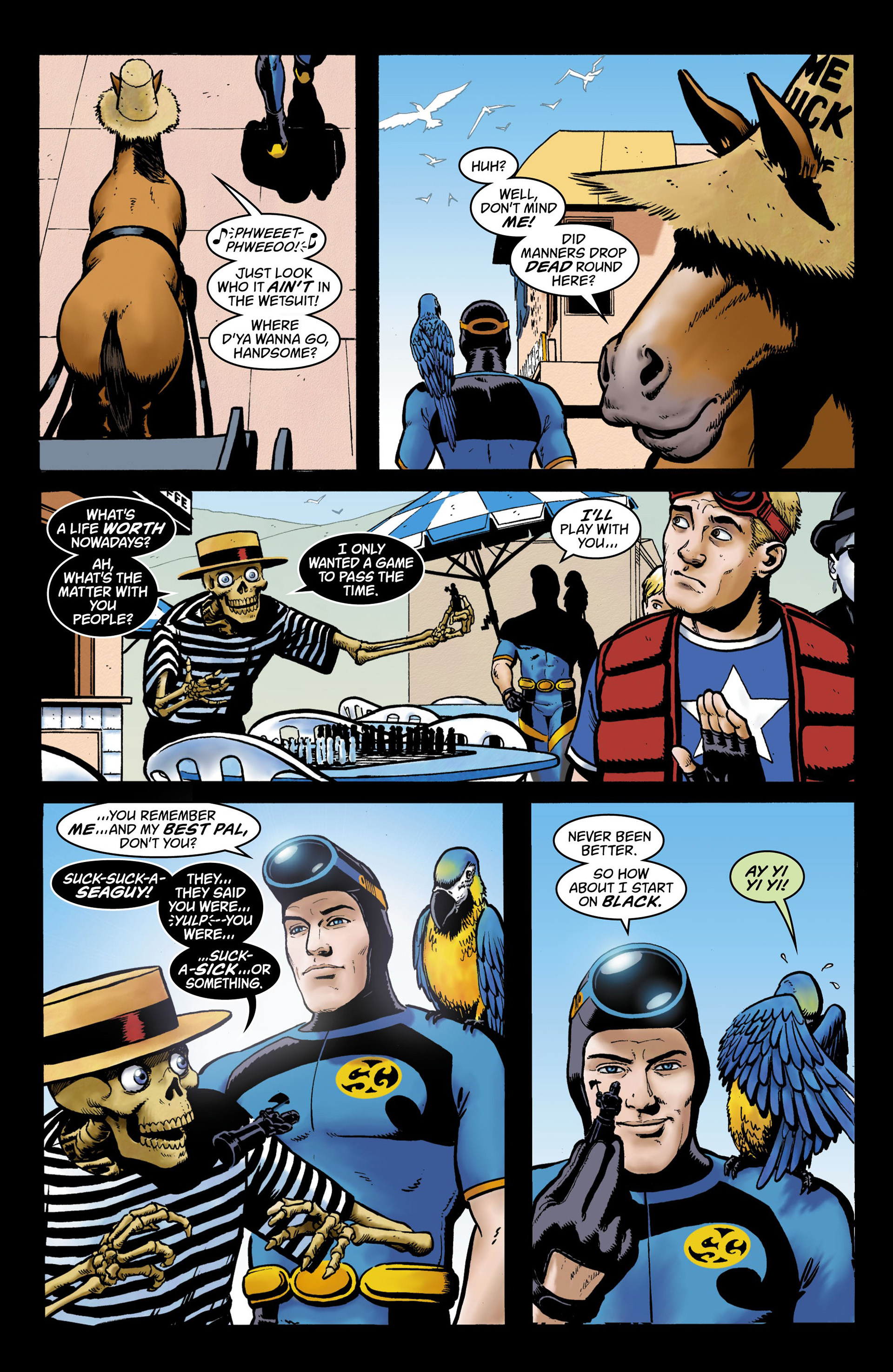 Read online Seaguy comic -  Issue #3 - 32