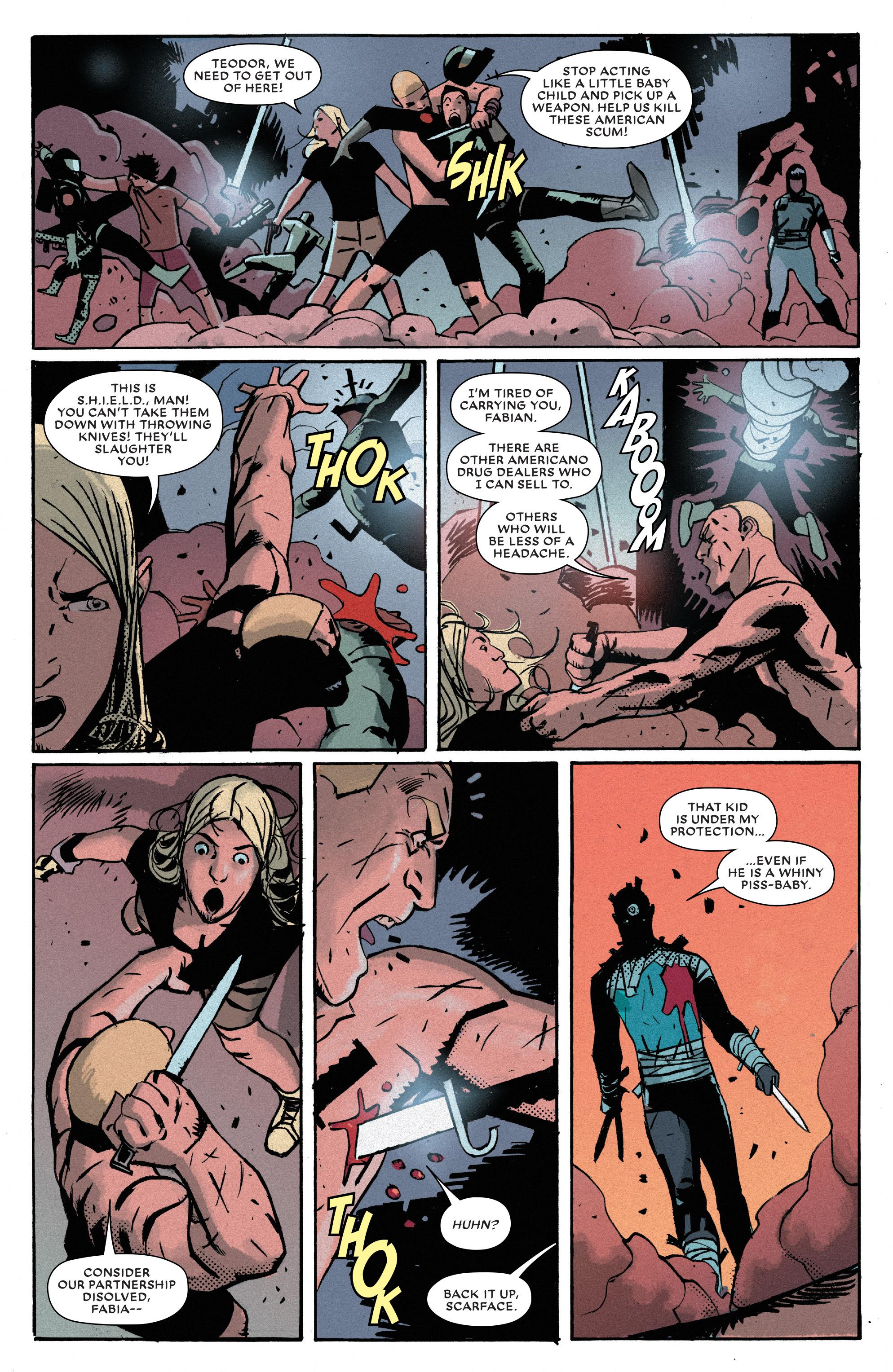 Read online Bullseye comic -  Issue #5 - 5