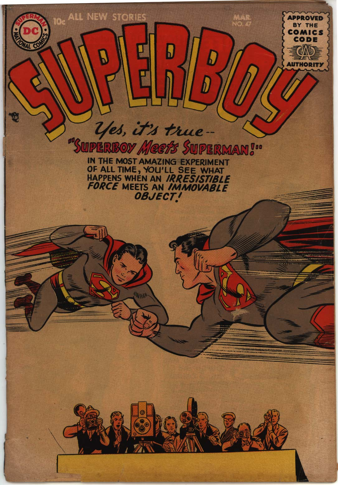 Superboy (1949) issue 47 - Page 1