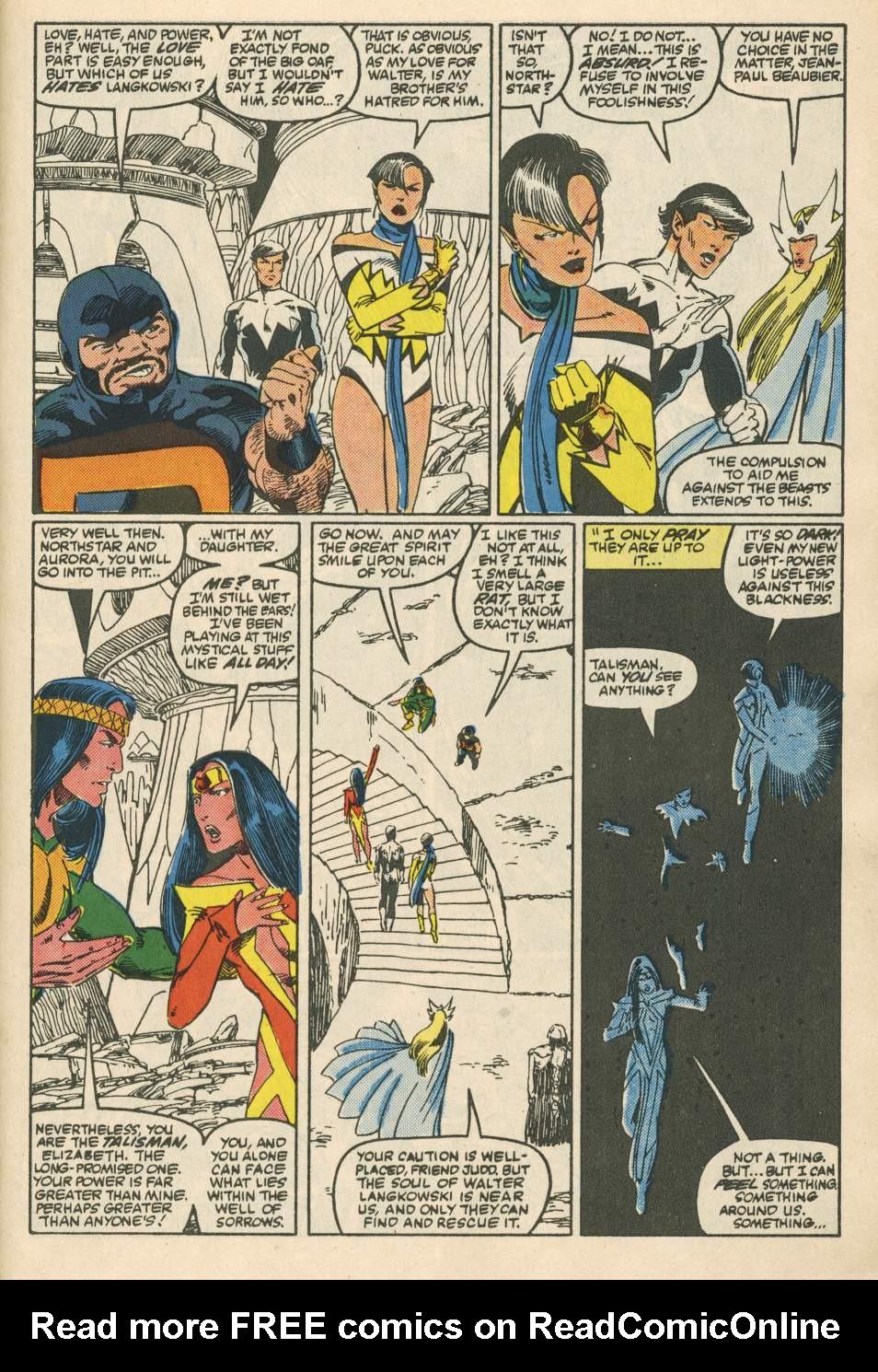 Read online Alpha Flight (1983) comic -  Issue #24 - 27
