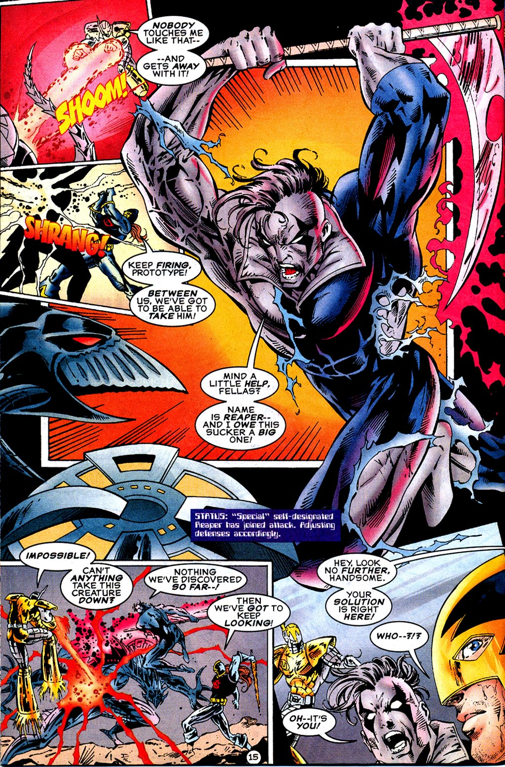 Read online UltraForce (1995) comic -  Issue #12 - 17