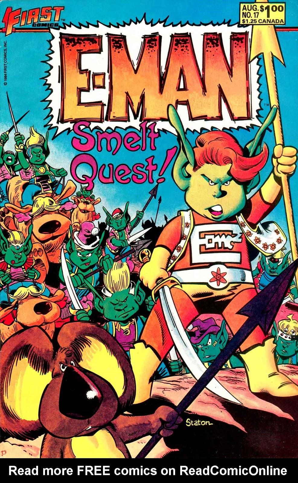 E-Man (1983) 17 Page 1