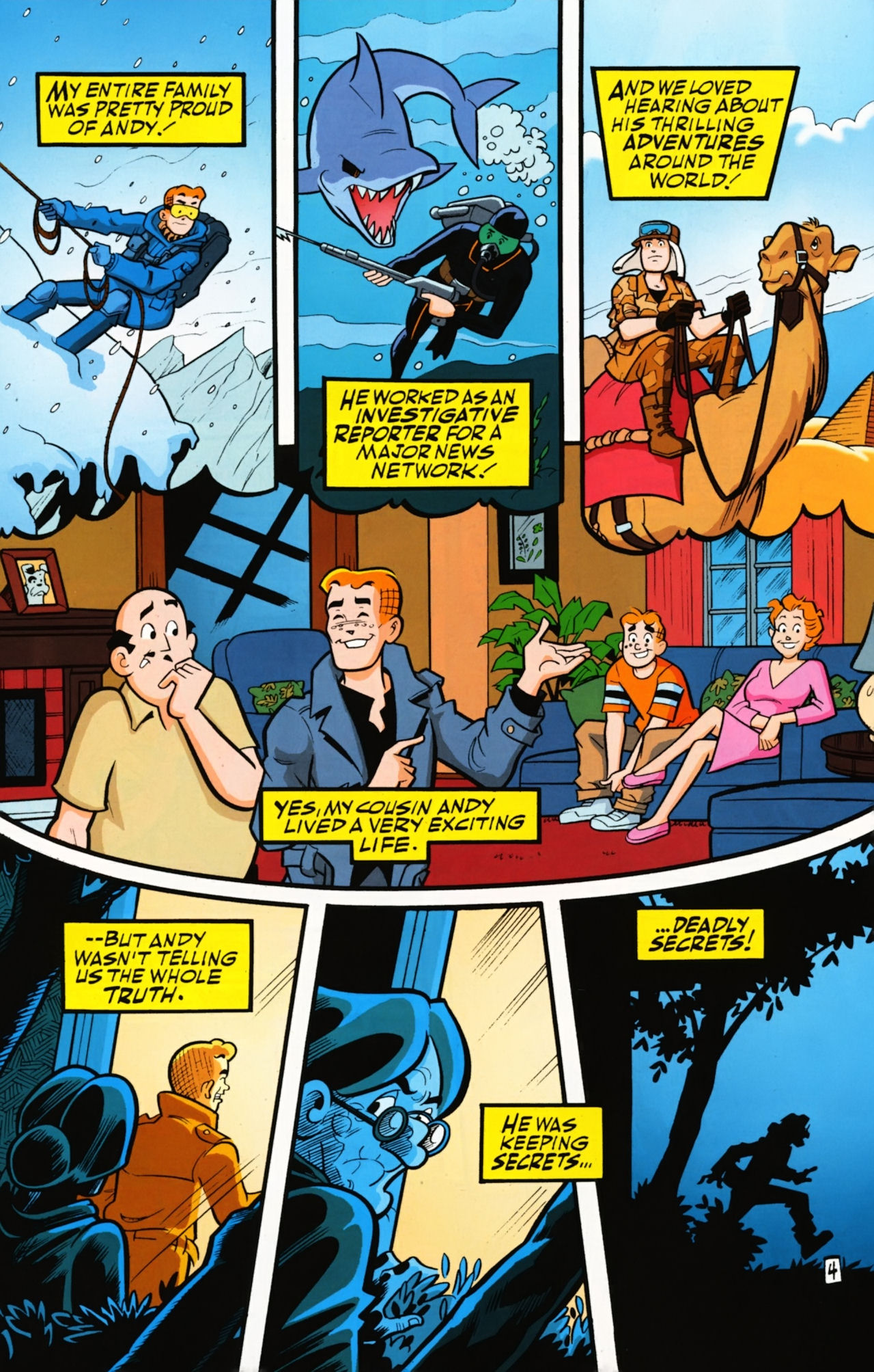 Read online Archie (1960) comic -  Issue #610 - 6